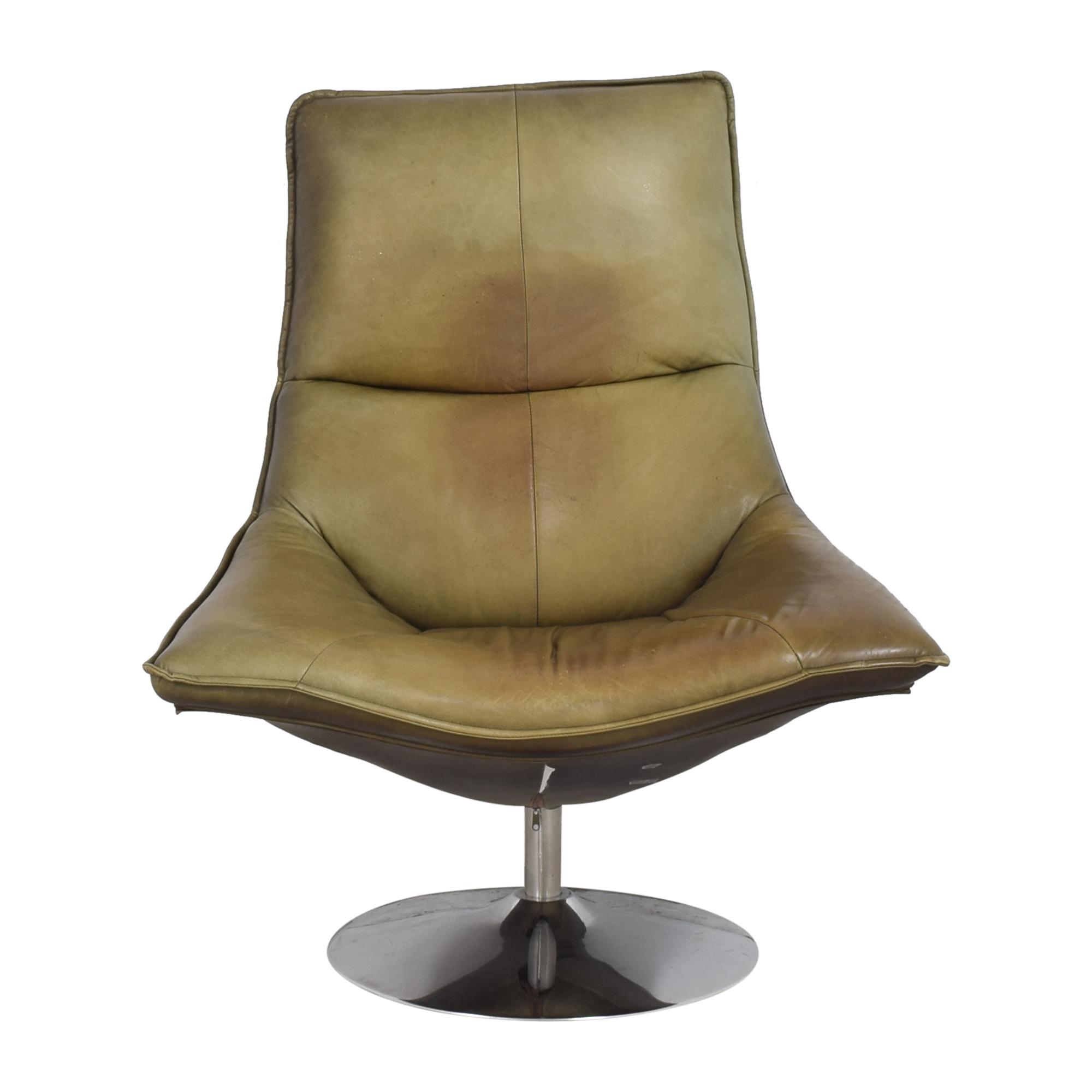 Restoration Hardware Restoration Hardware Hopper Swivel Bucket Chair