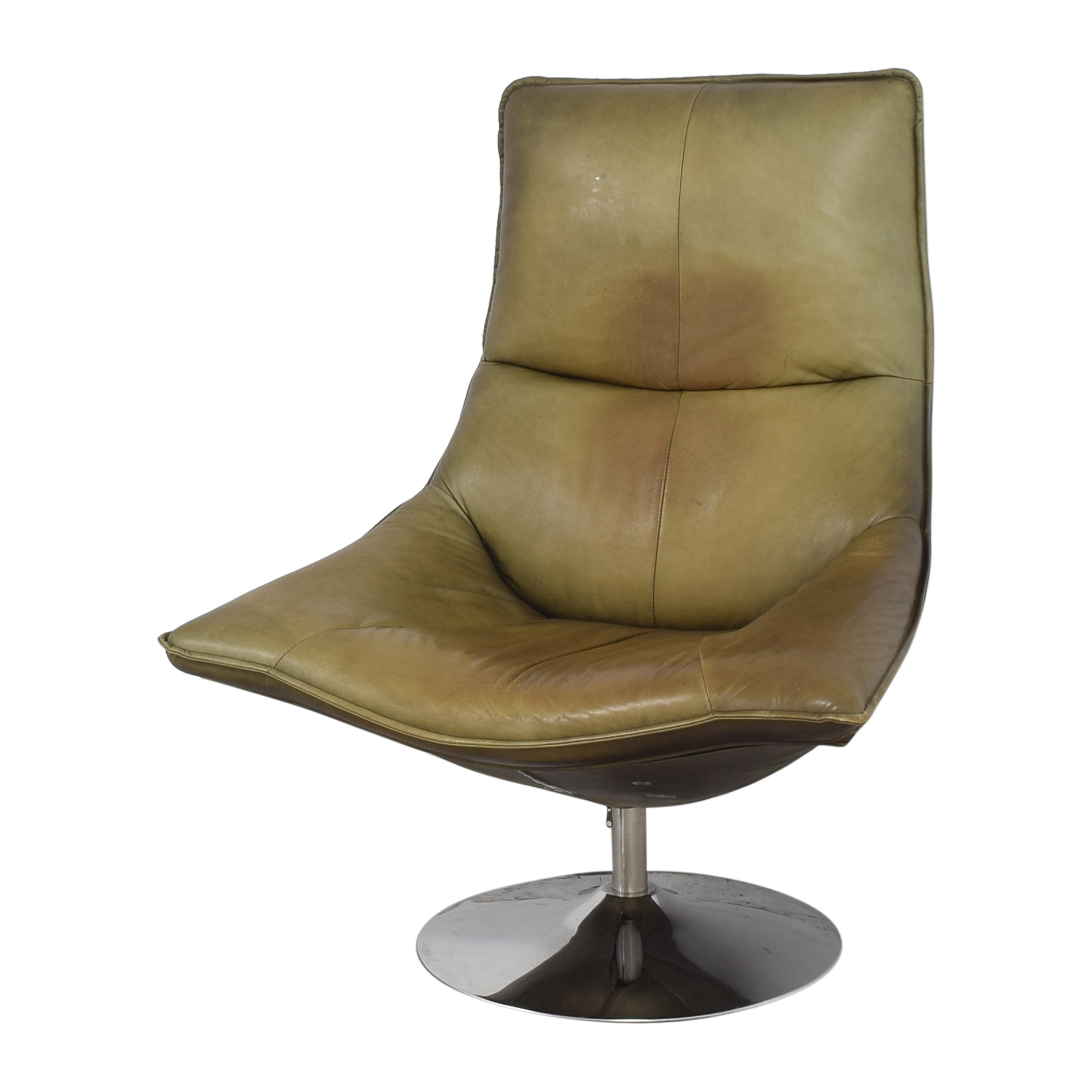 Restoration Hardware Restoration Hardware Hopper Swivel Bucket Chair discount