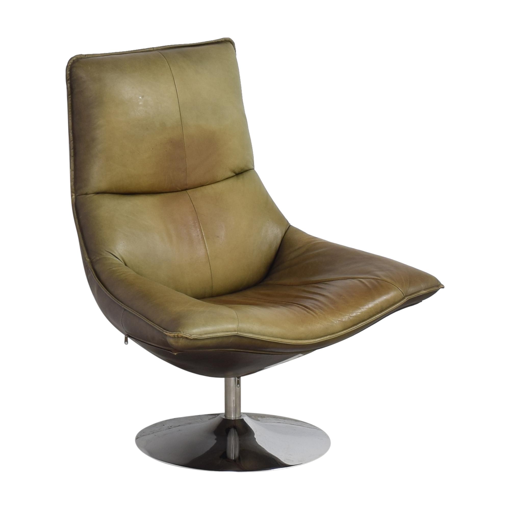 buy Restoration Hardware Restoration Hardware Hopper Swivel Bucket Chair online