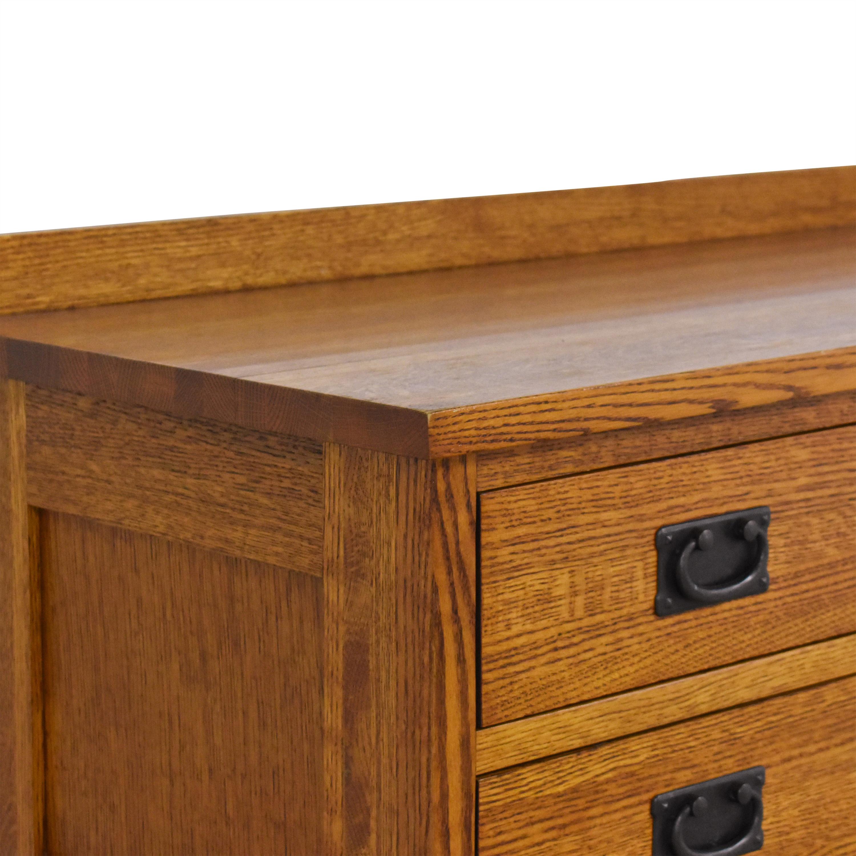 Michaels Michaels Mission-Style Twelve Drawer Dresser discount