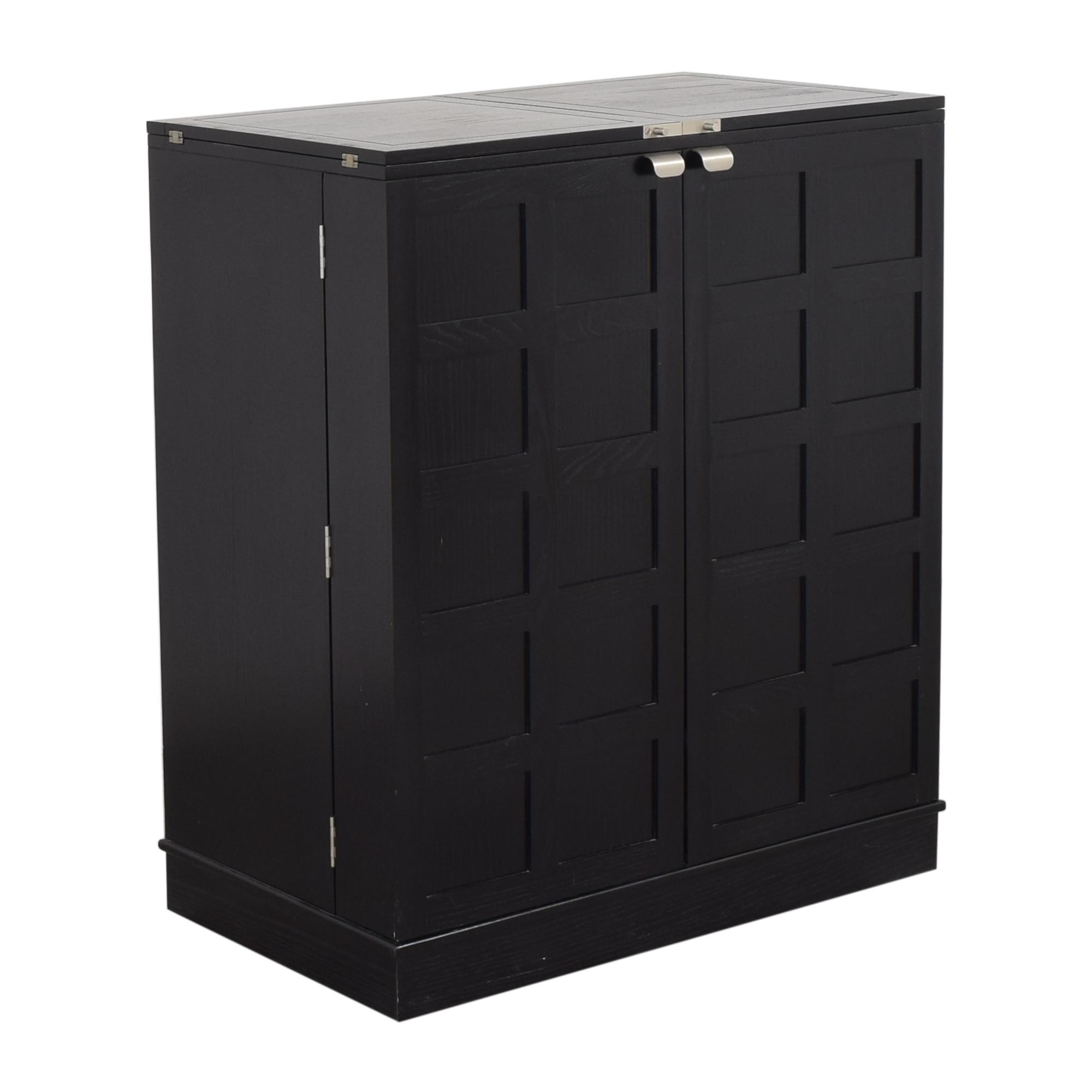 Crate & Barrel Crate & Barrel Steamer Bar Cabinet coupon