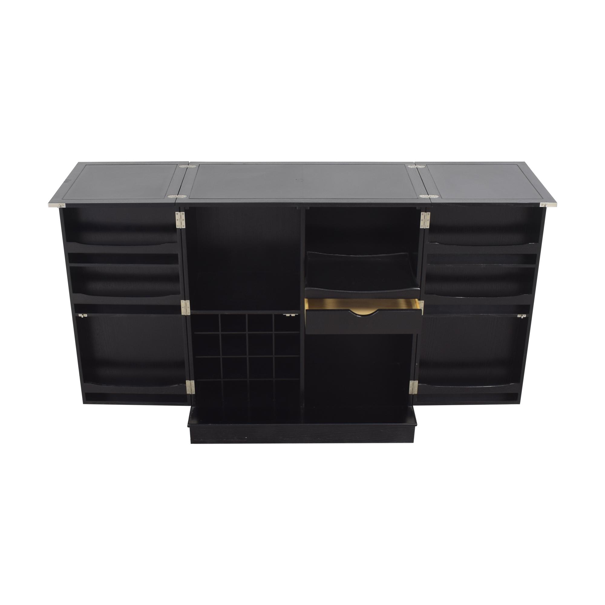 Crate & Barrel Crate & Barrel Steamer Bar Cabinet Cabinets & Sideboards