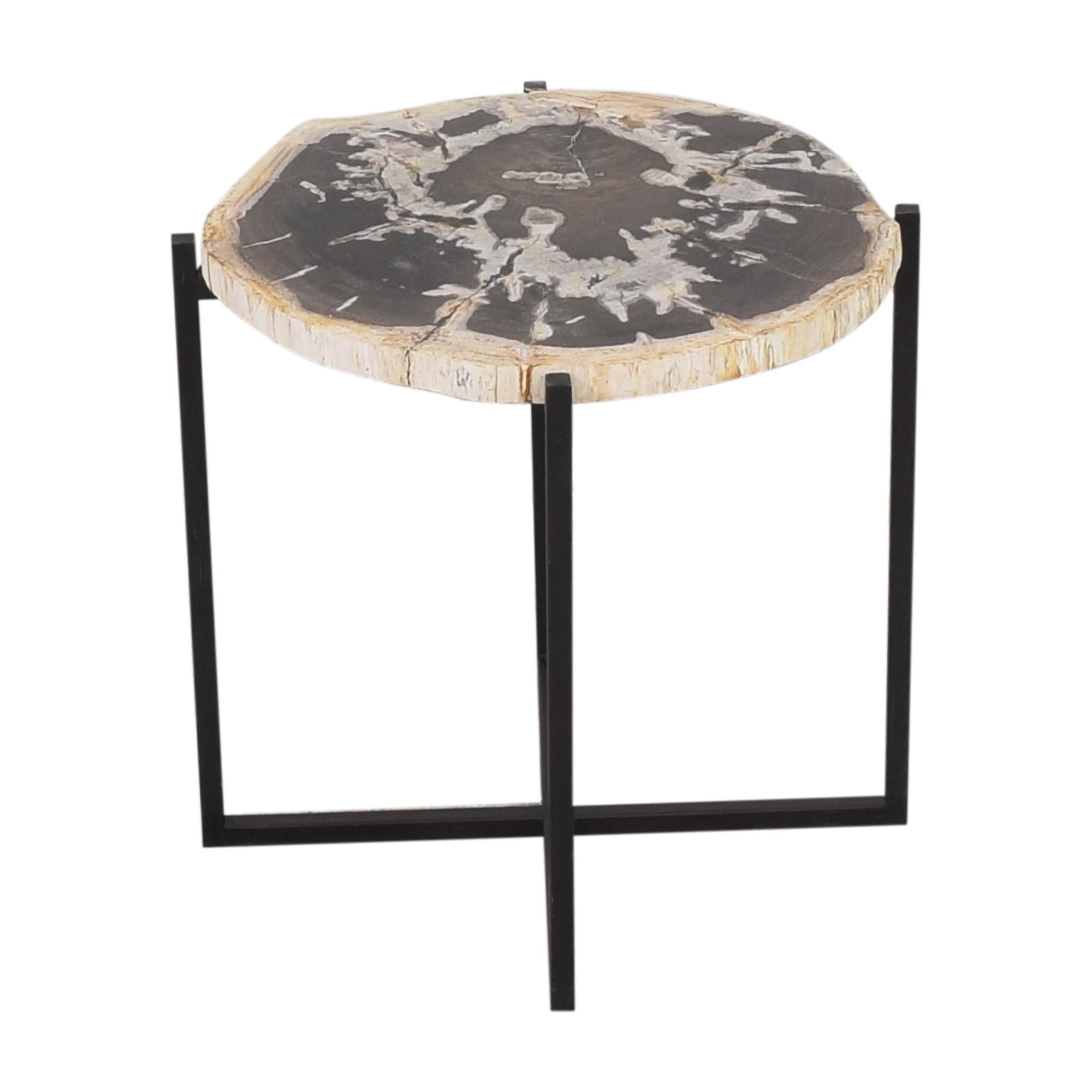 West Elm West Elm Petrified Side Table on sale