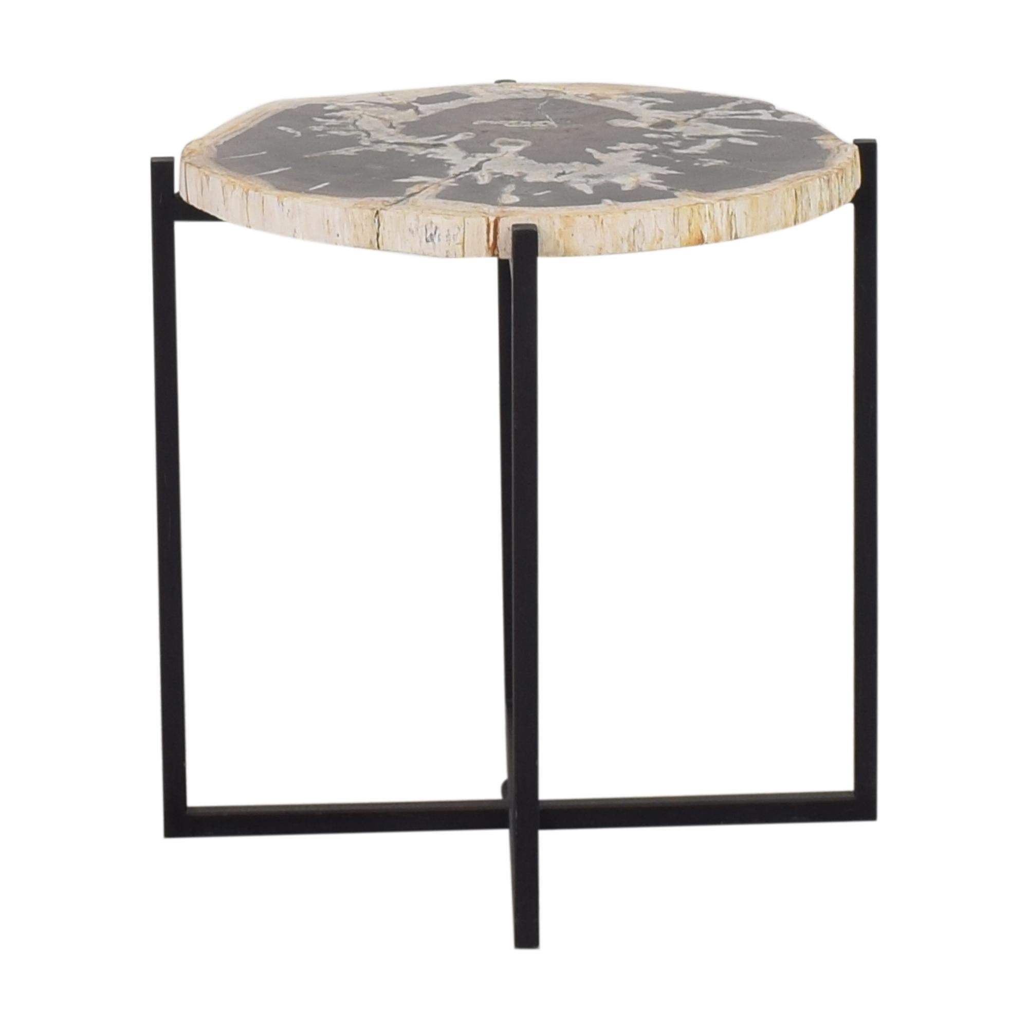 buy West Elm Petrified Side Table West Elm Tables