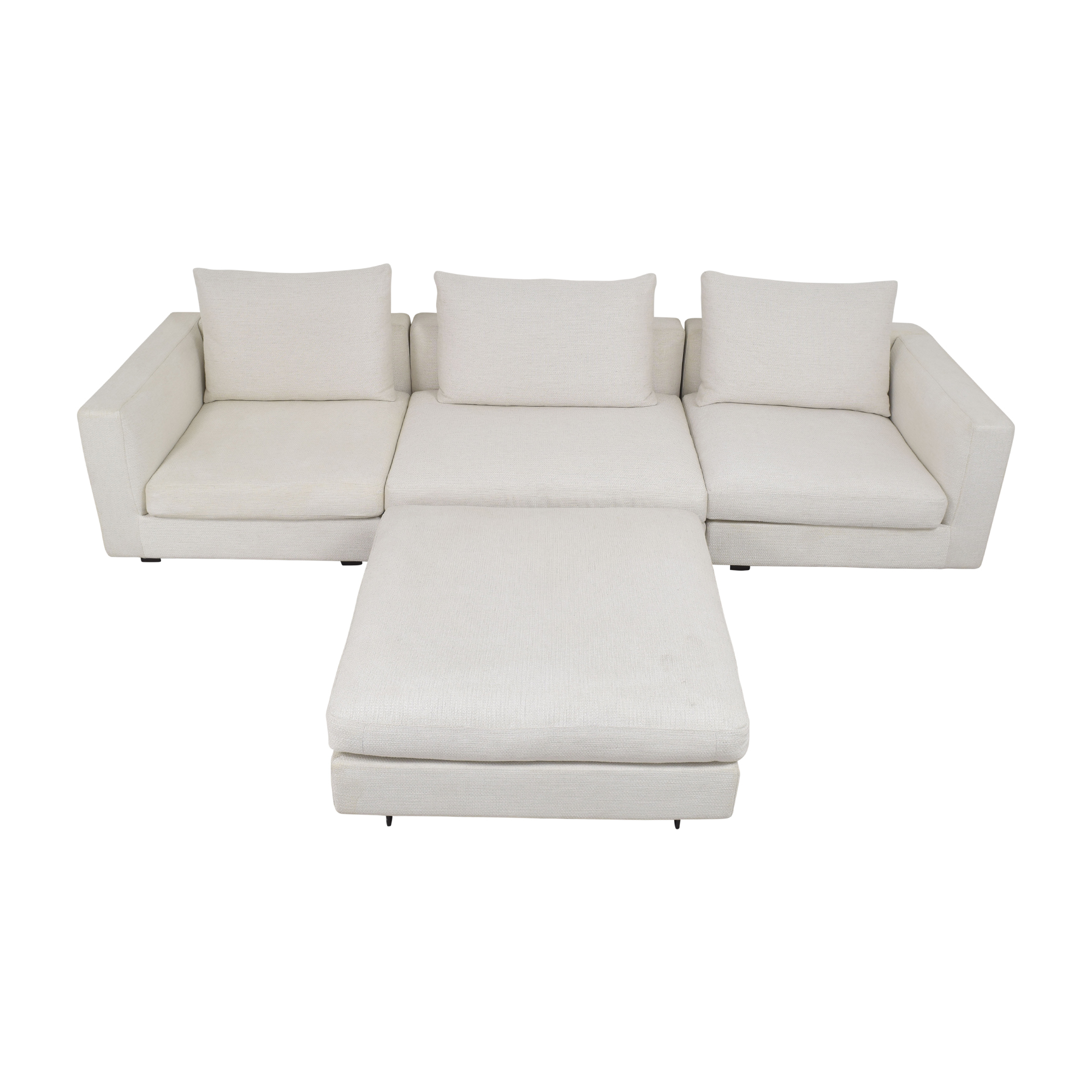 buy Camerich Freetown Sectional Sofa with Ottoman Camerich