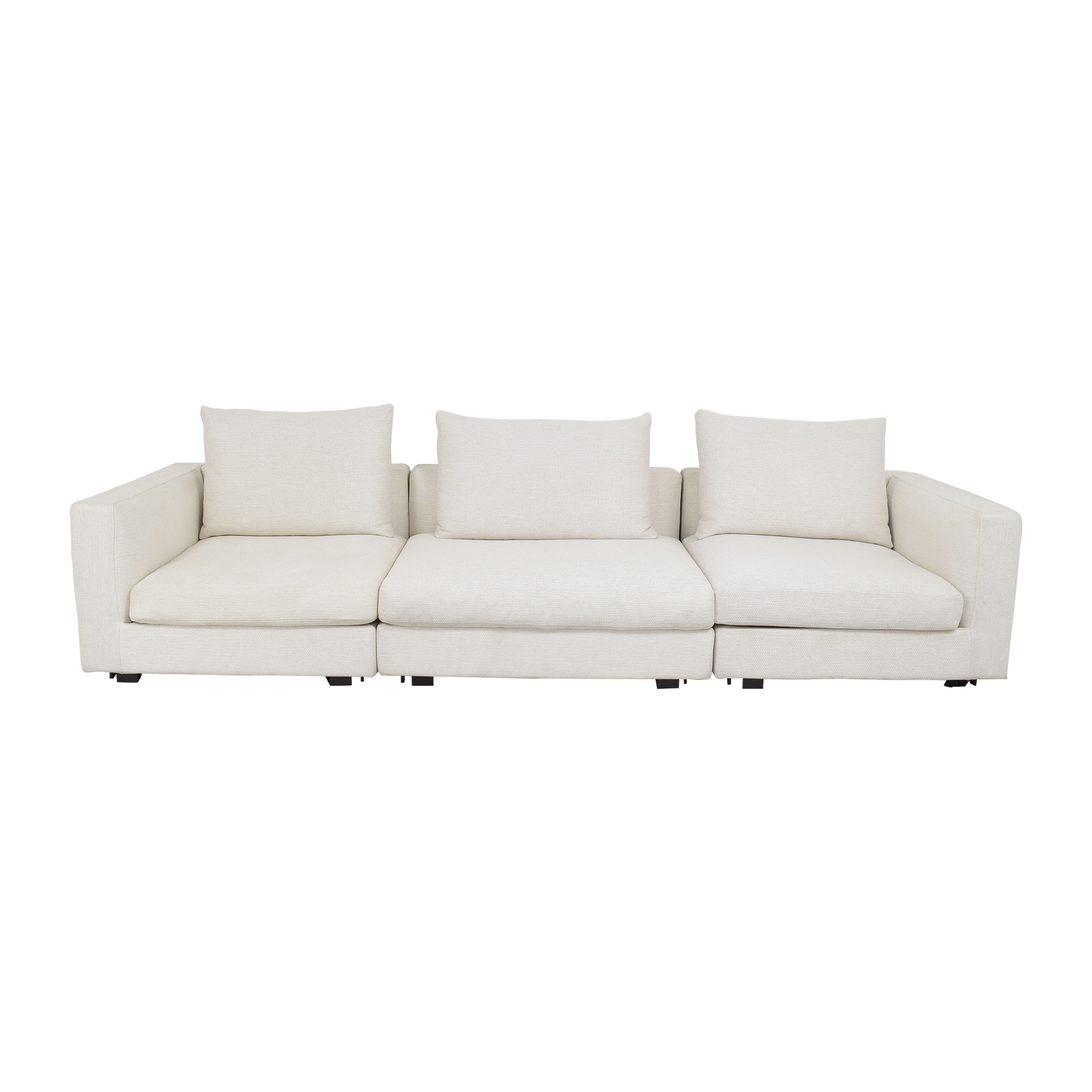 Camerich Camerich Freetown Sectional Sofa with Ottoman pa
