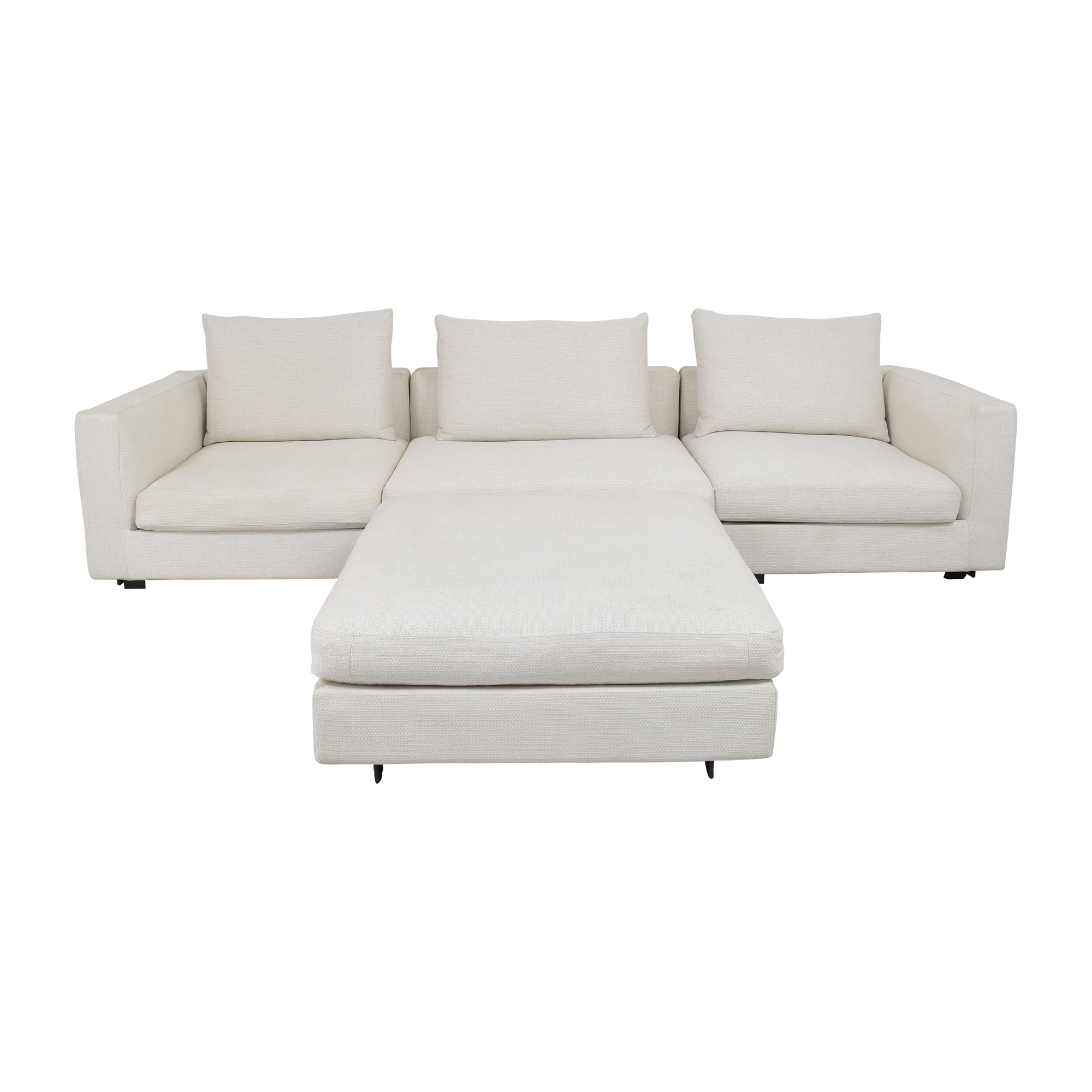 Camerich Freetown Sectional Sofa with Ottoman / Sofas