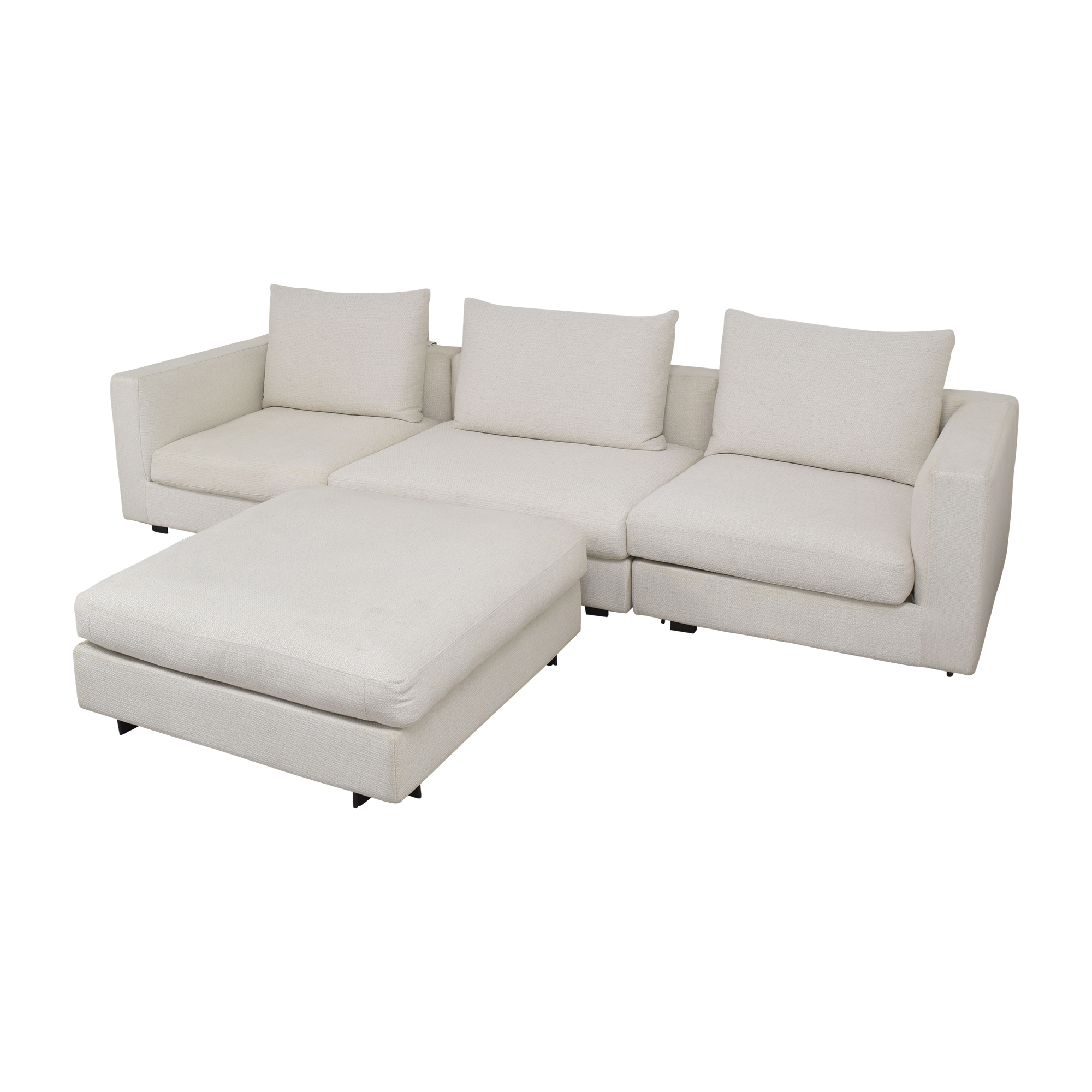 Camerich Camerich Freetown Sectional Sofa with Ottoman nj