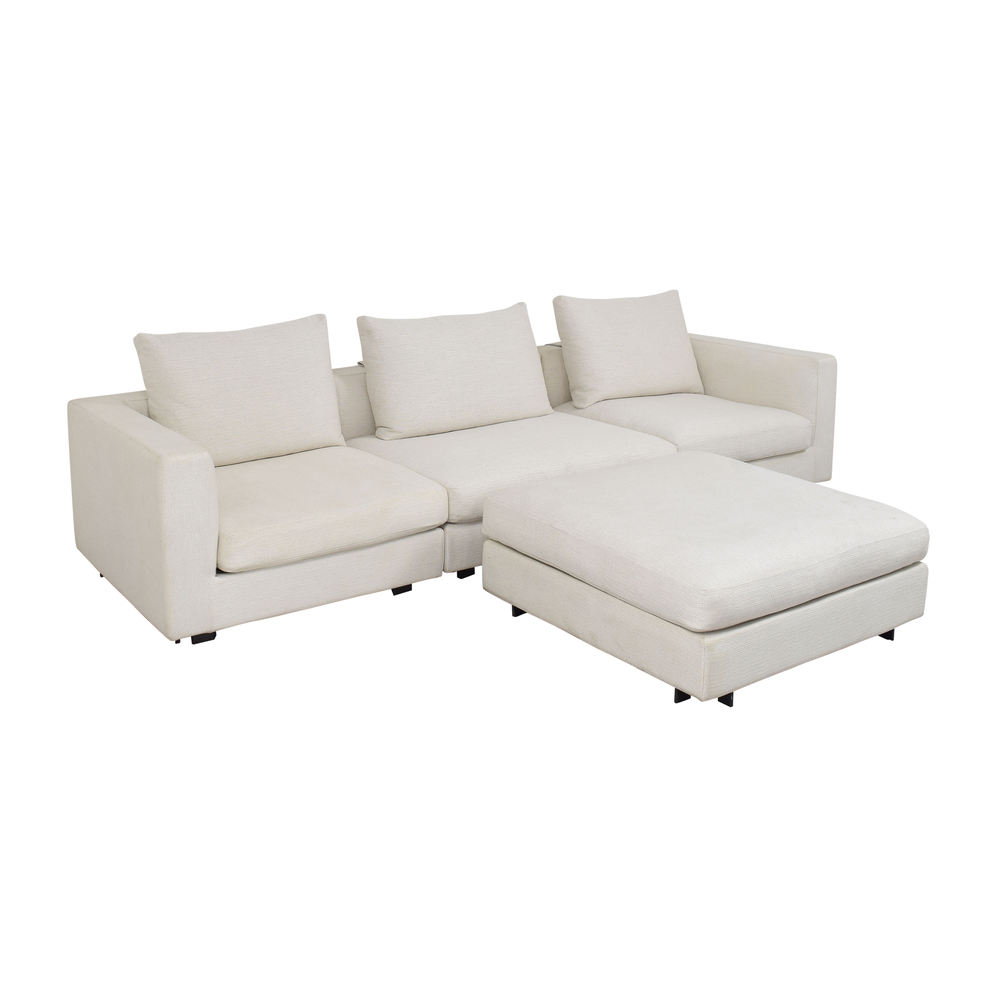 shop Camerich Freetown Sectional Sofa with Ottoman Camerich Sofas