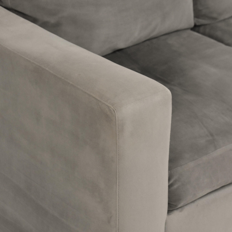 Room & Board Room & Board Taft Three Cushion Sofa nj
