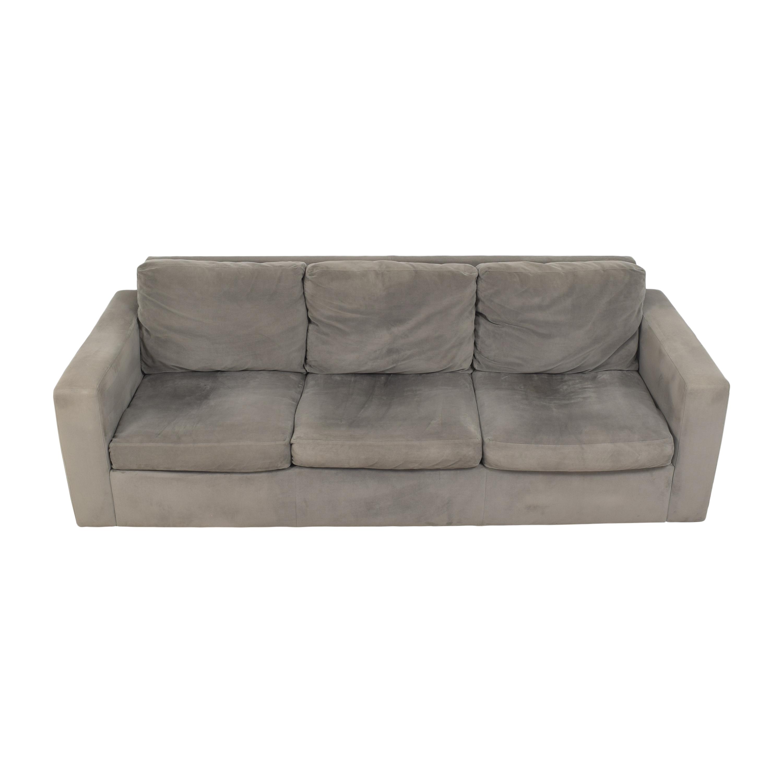 Room & Board Taft Three Cushion Sofa Room & Board