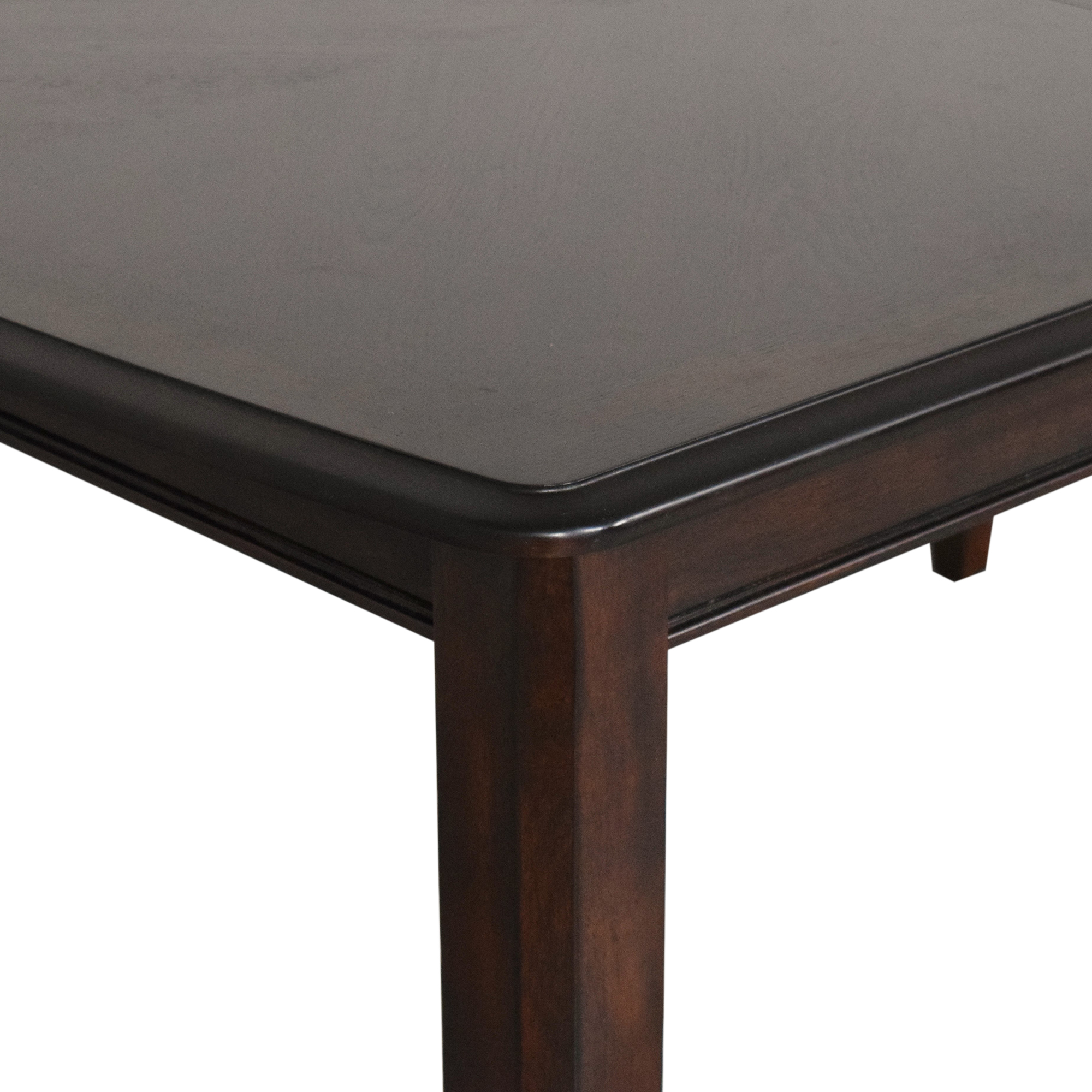 Raymour & Flanigan Extendable Dining Table Raymour & Flanigan