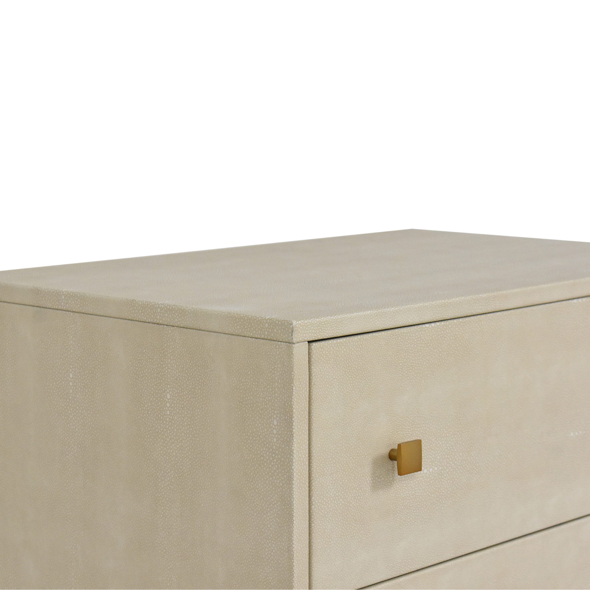 CB2 Embossed Tall Chest CB2