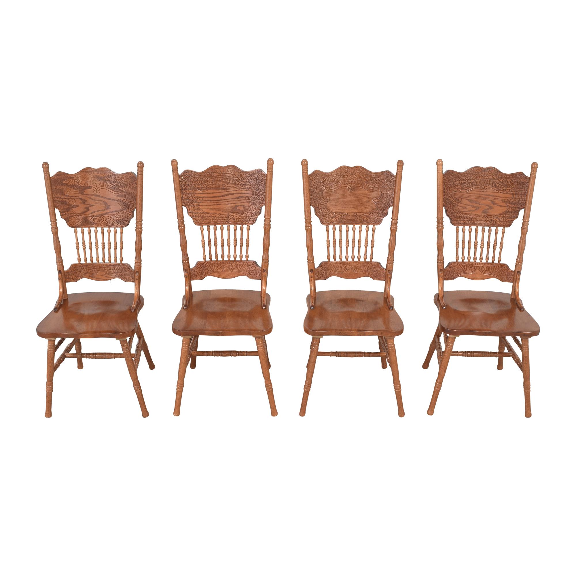 Poundex Poundex Pressback Dining Chairs nj