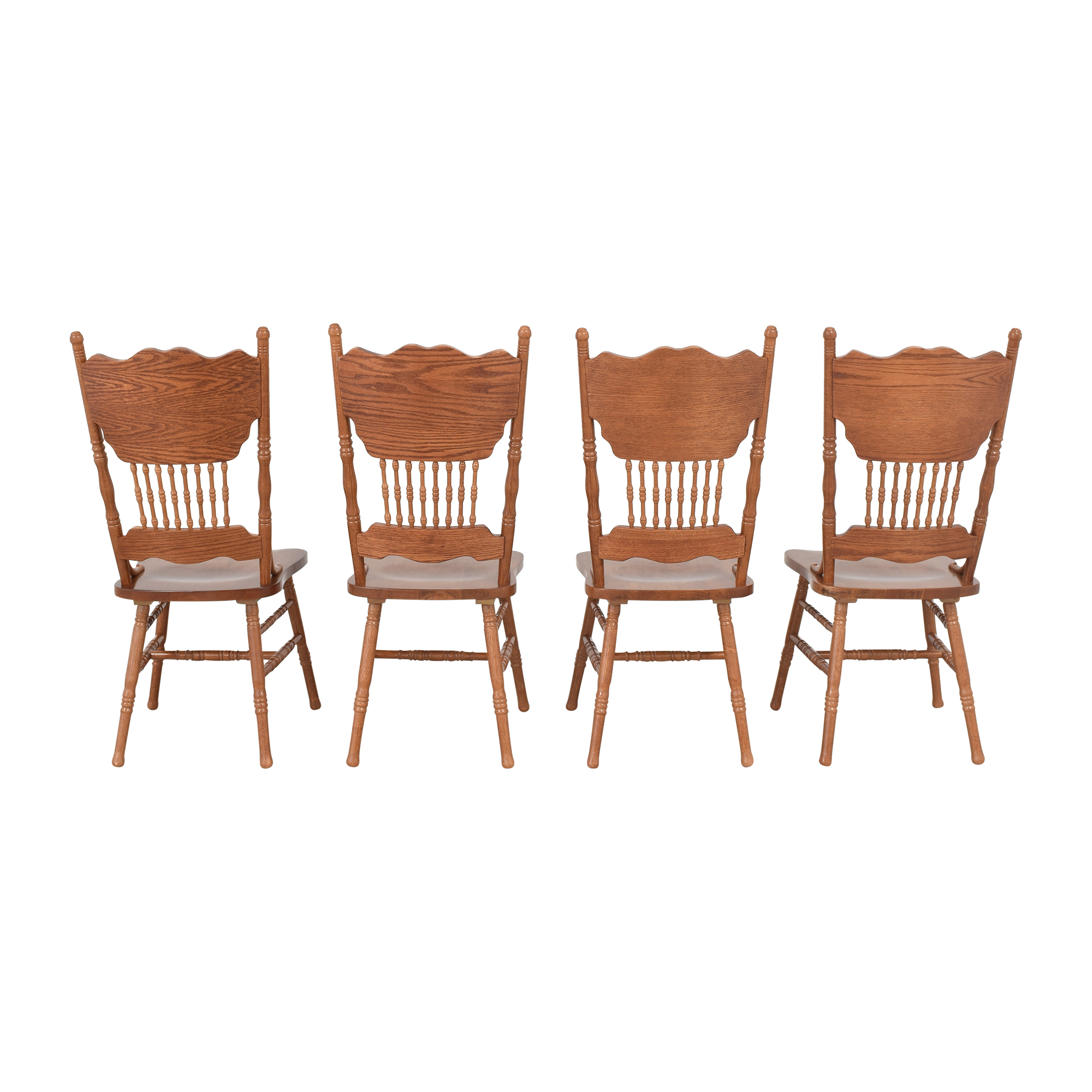 Poundex Poundex Pressback Dining Chairs Dining Chairs