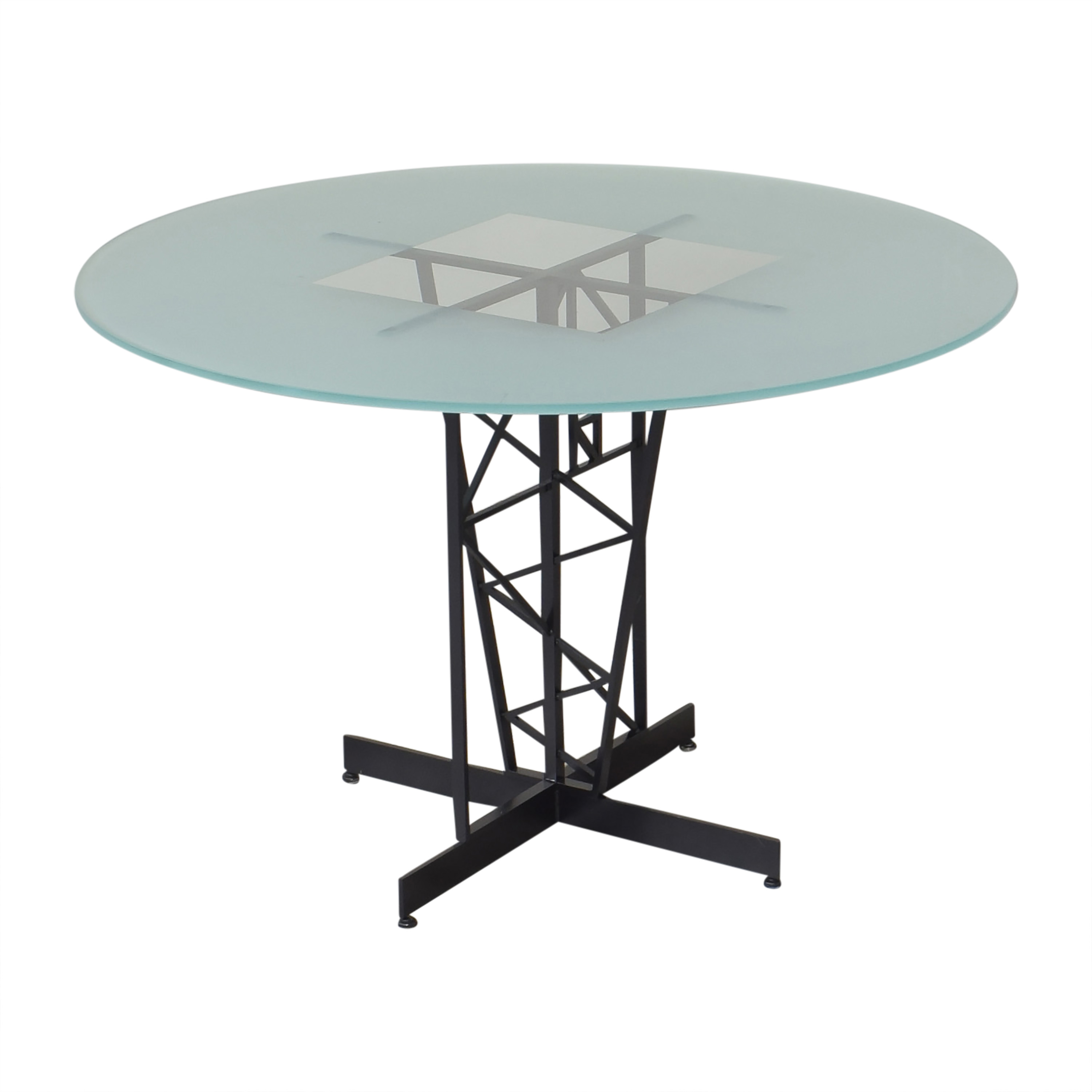 Round Top Dining Table ma