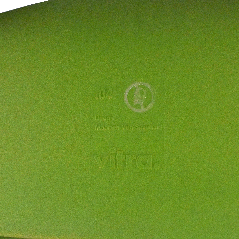 Vitra Vitra .04 Counter Arm Chair green & silver