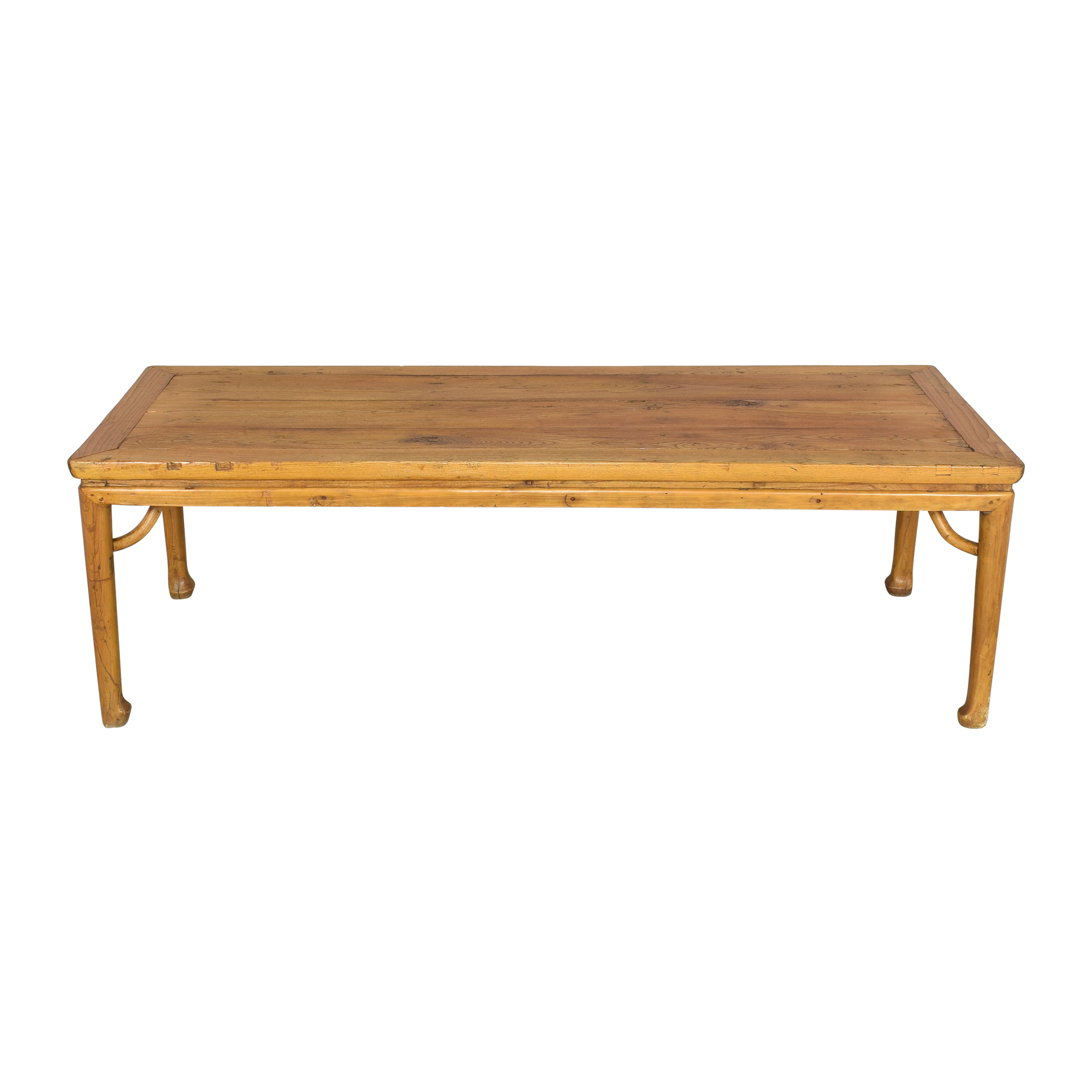 Vintage Balinese-Style Dining Table pa