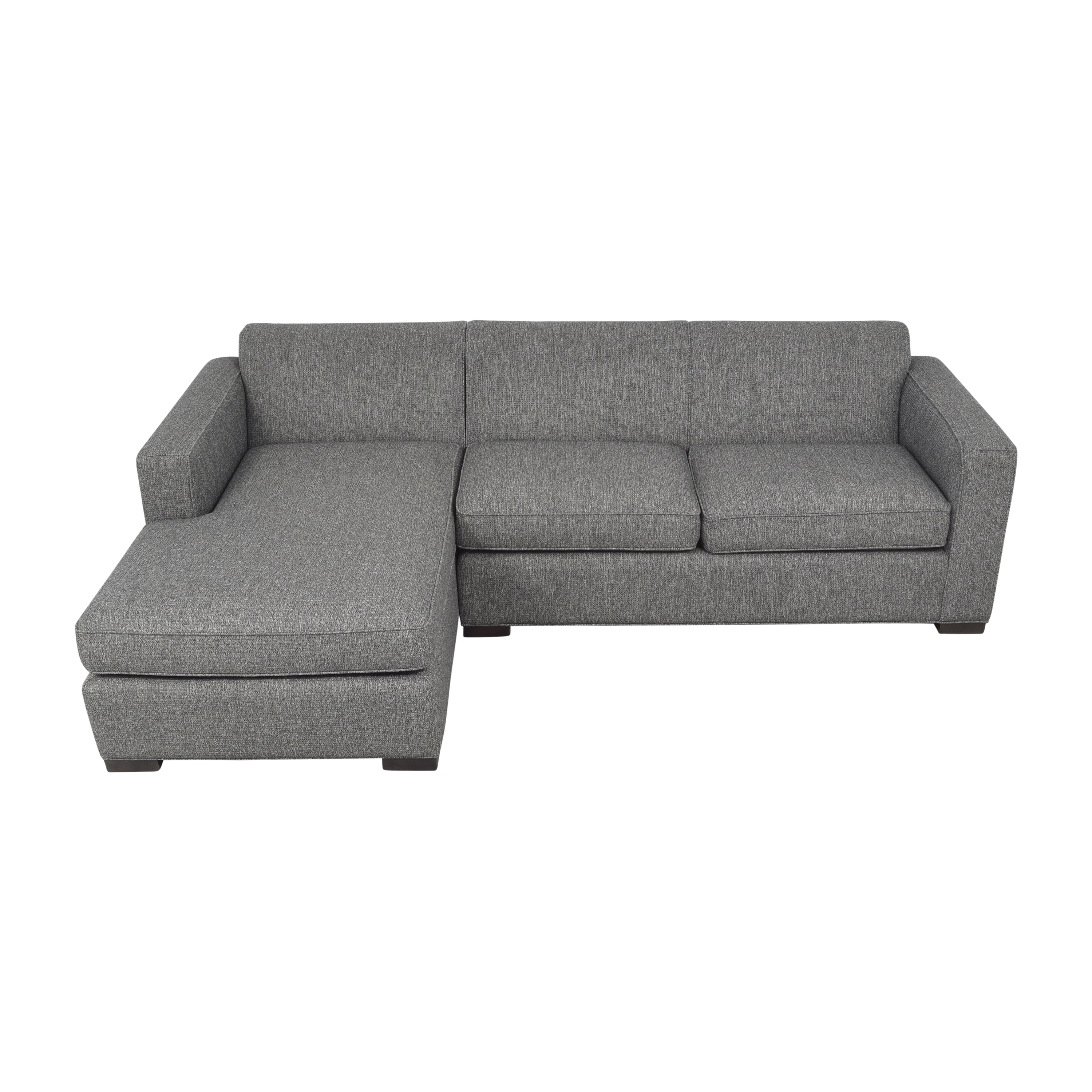 shop Room & Board Ian Sectional Sofa with Chaise Room & Board Sofas