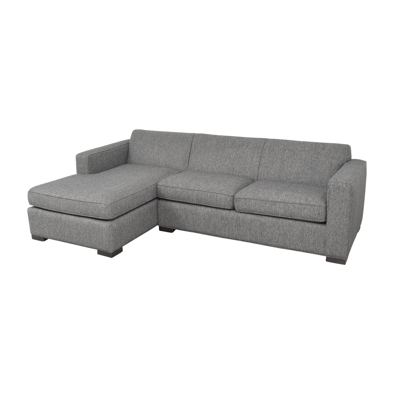 Room & Board Room & Board Ian Sectional Sofa with Chaise pa