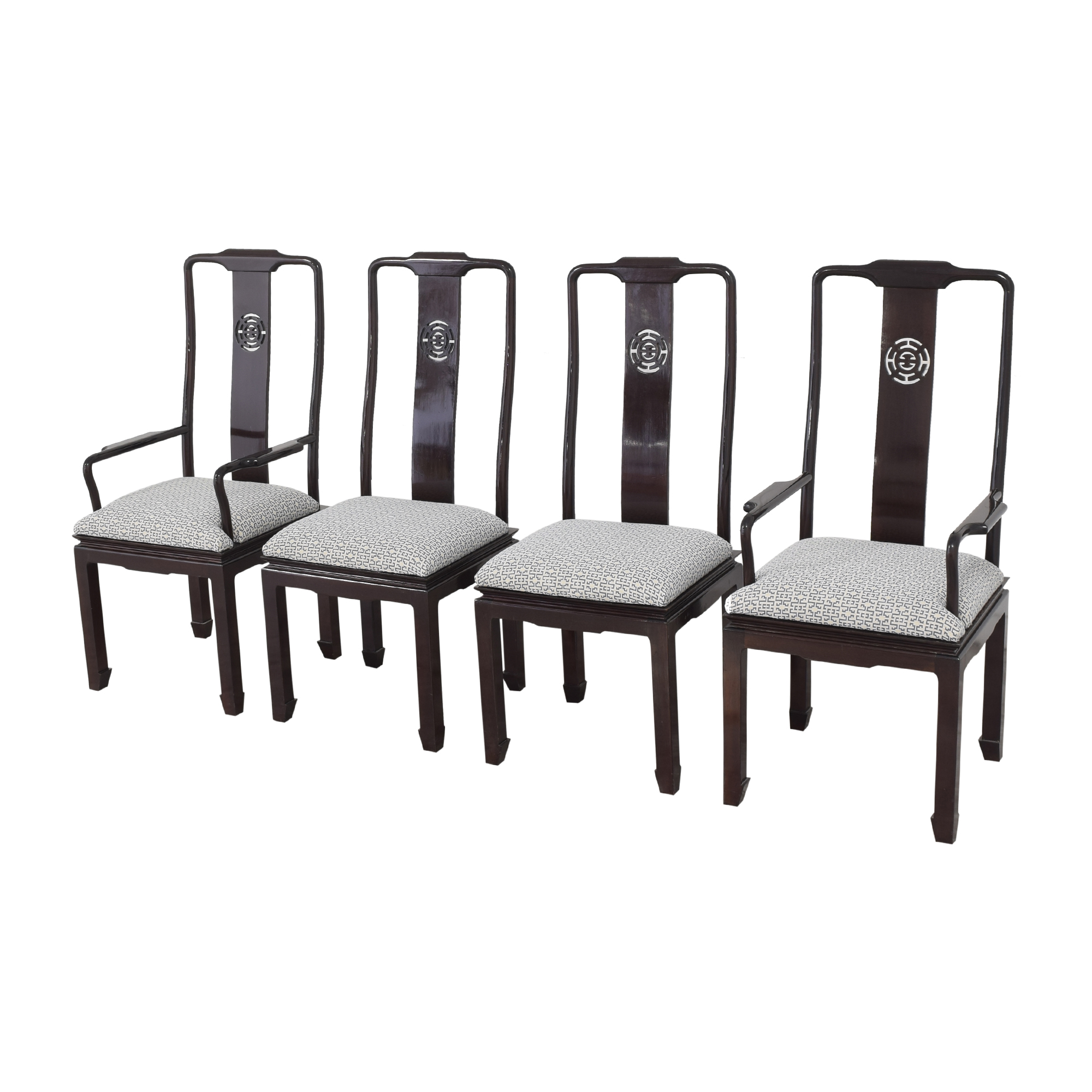 Chinoiserie Dining Chairs second hand