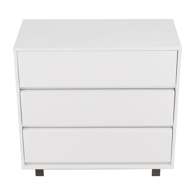 CB2 Gallery Three Drawer Chest / Dressers