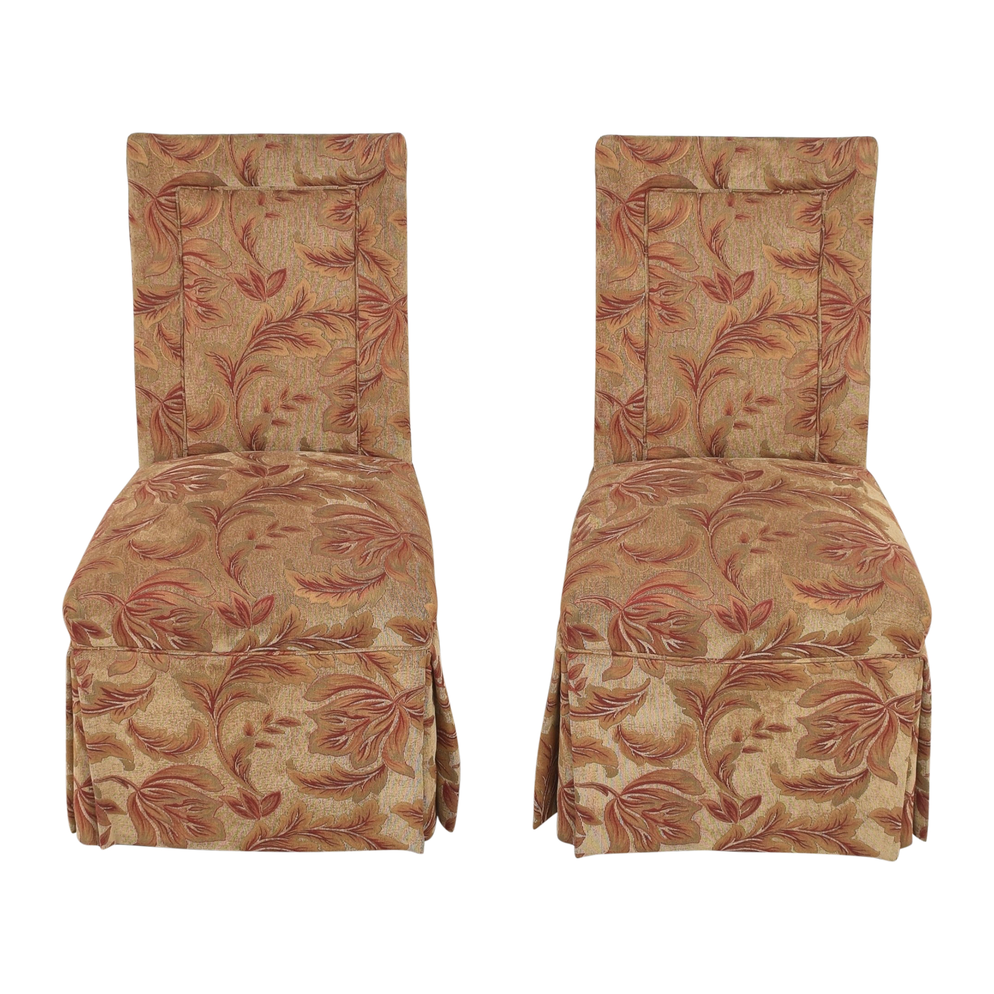 Cox Manufacturing Skirted Dining Chairs Cox Manufacturing