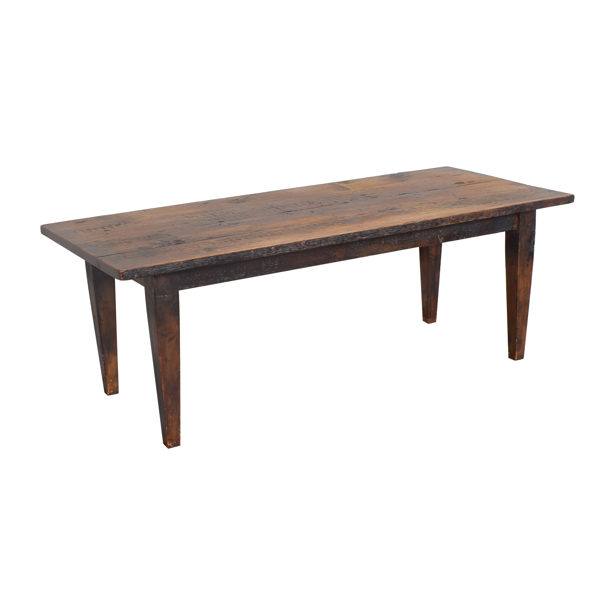 shop Olde Good Things Reclaimed Farmhouse Dining Table Olde Good Things