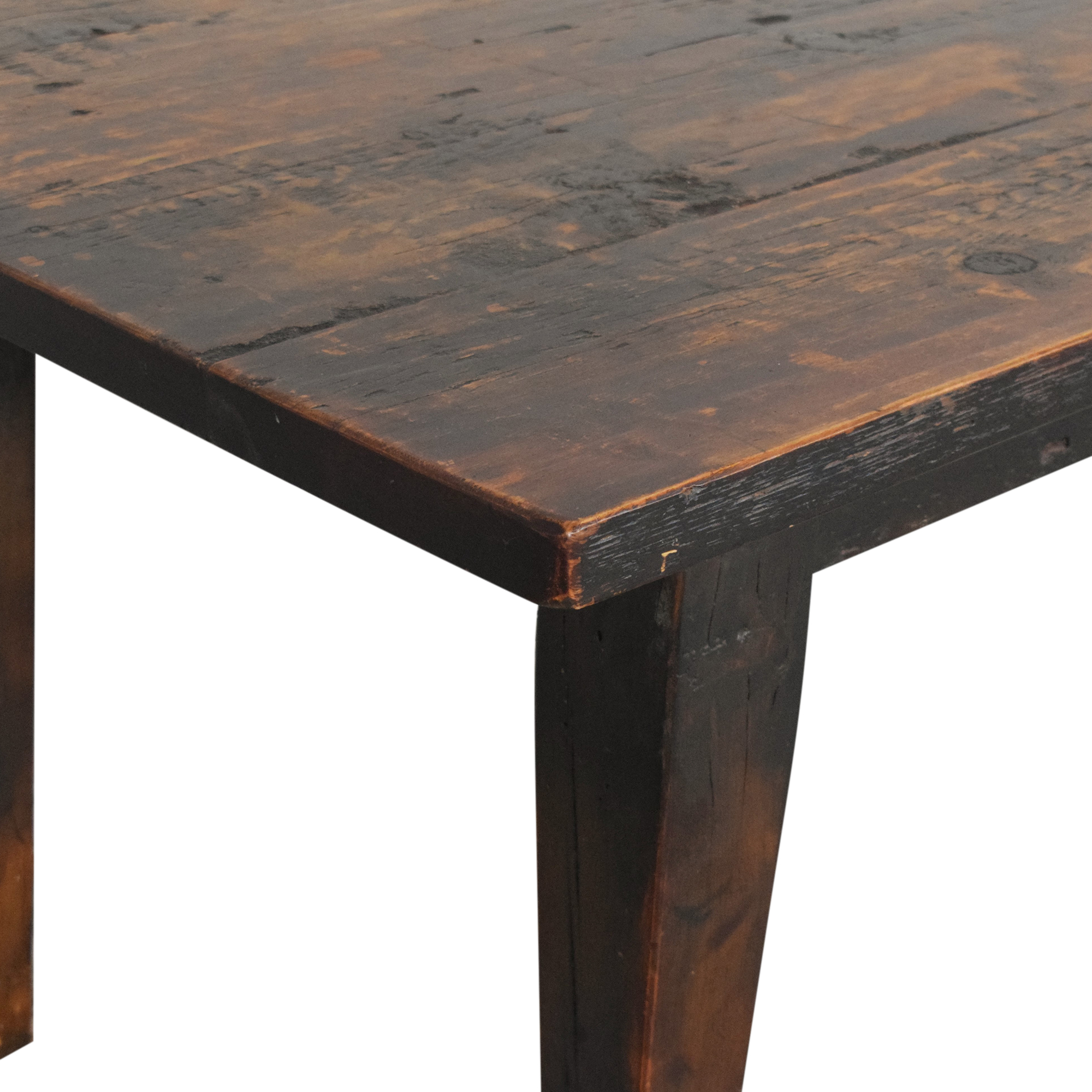 buy Olde Good Things Reclaimed Farmhouse Dining Table Olde Good Things