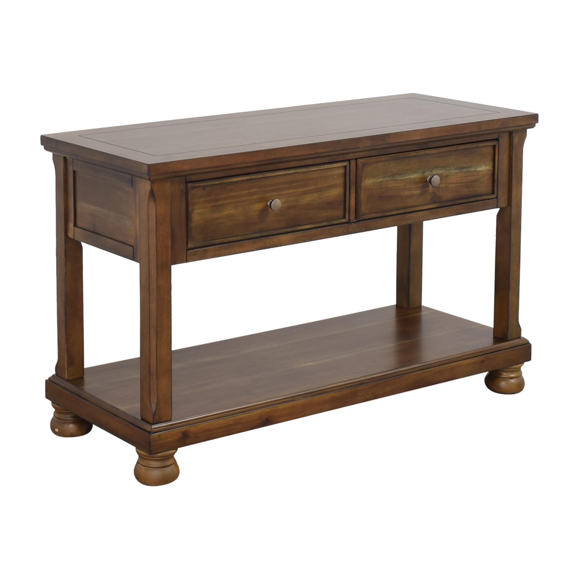 shop Ashley Furniture Porter Console Table Ashley Furniture Tables