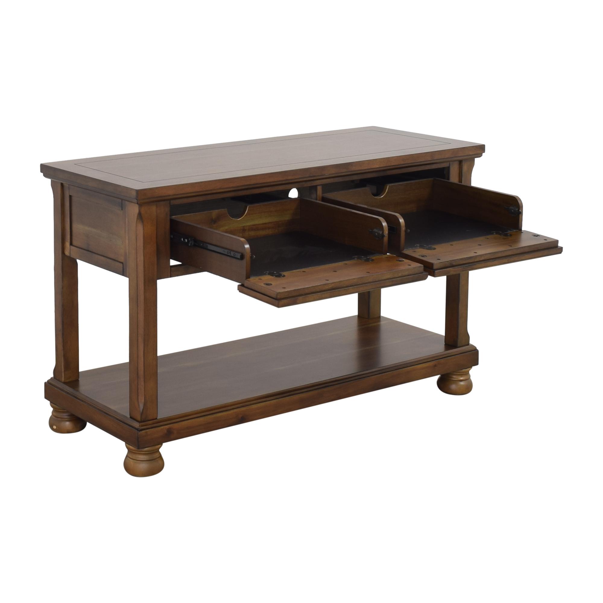 Ashley Furniture Porter Console Table sale