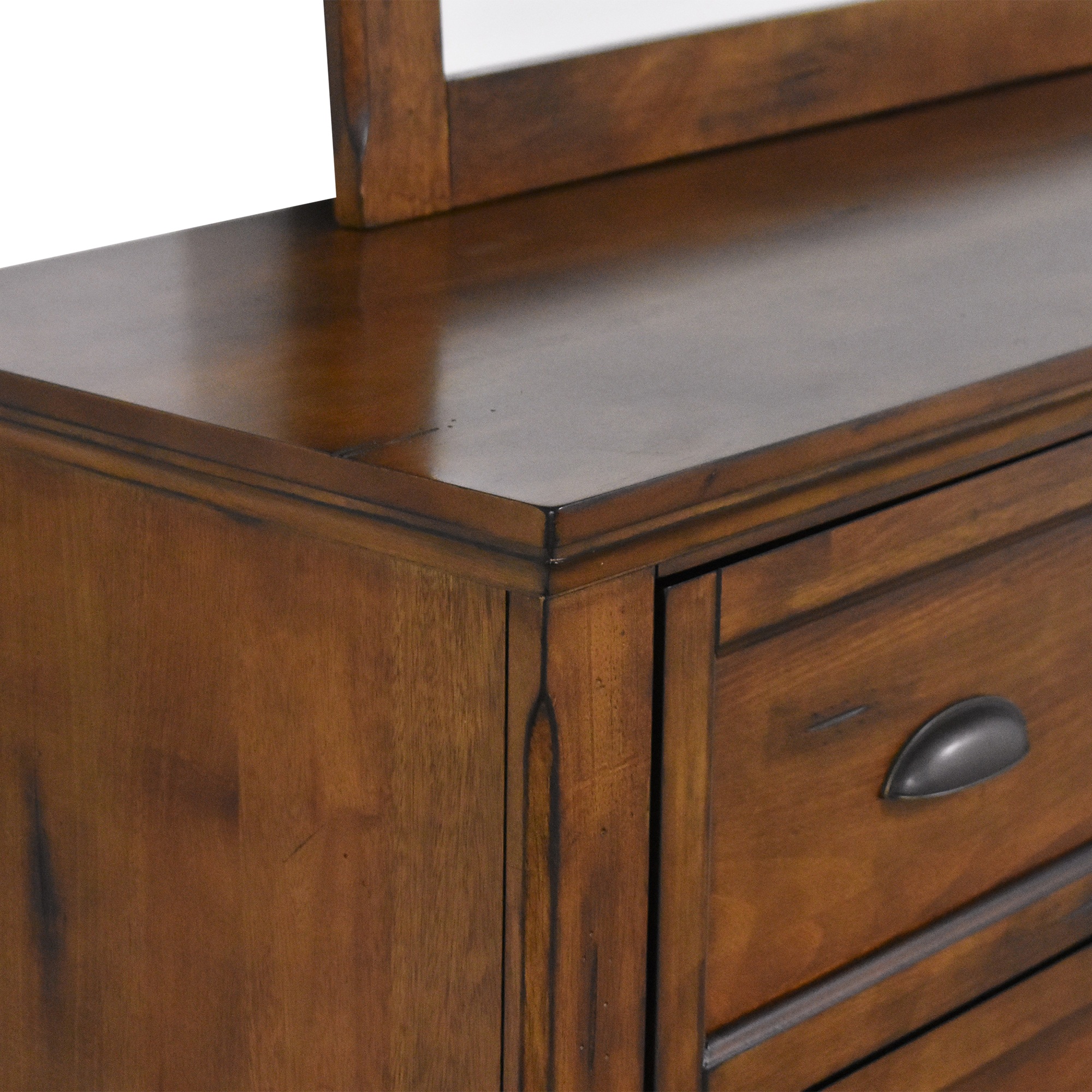 Simmons Simmons Remington Dresser with Mirror brown