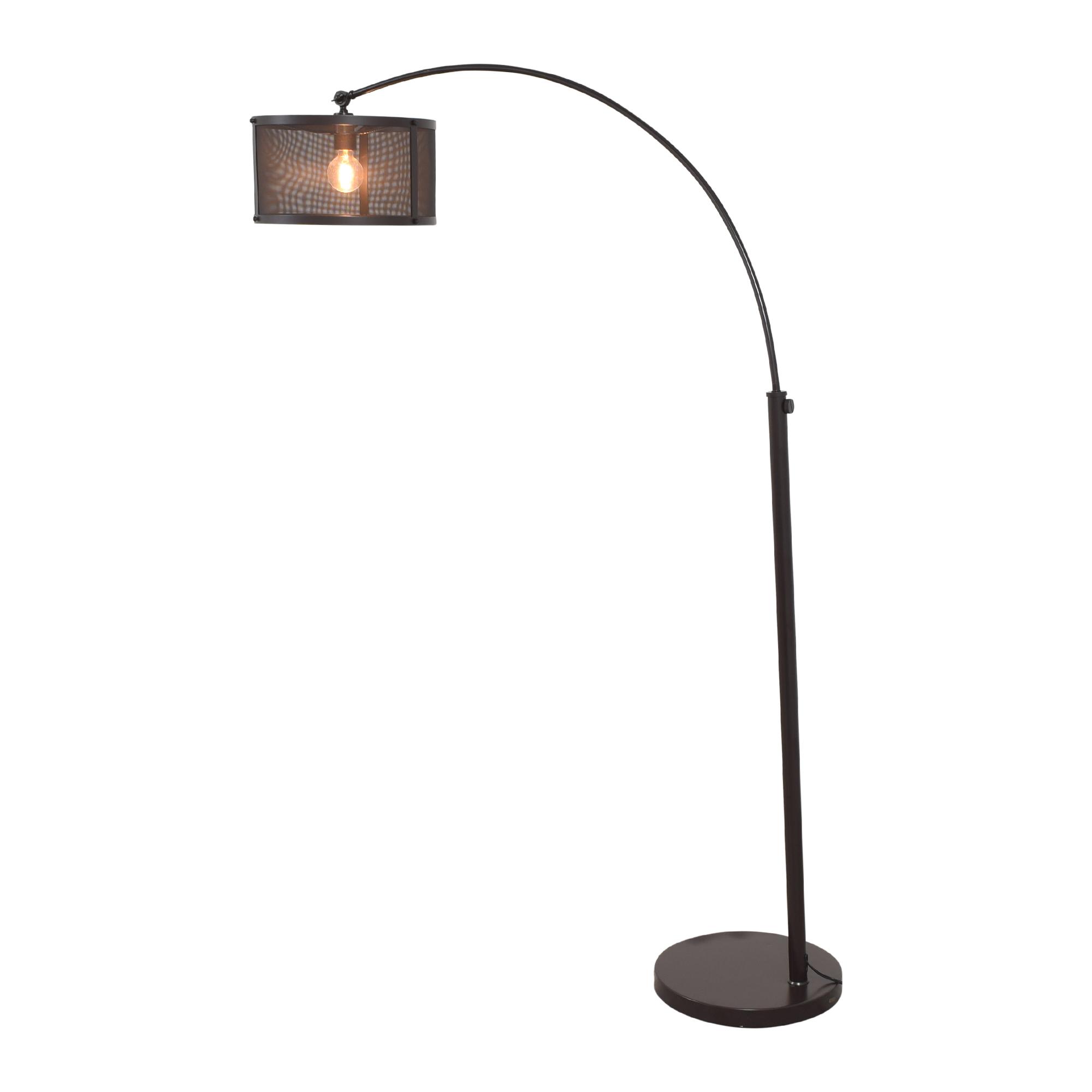 shop Quoizel Overarching Floor Lamp Quoizel