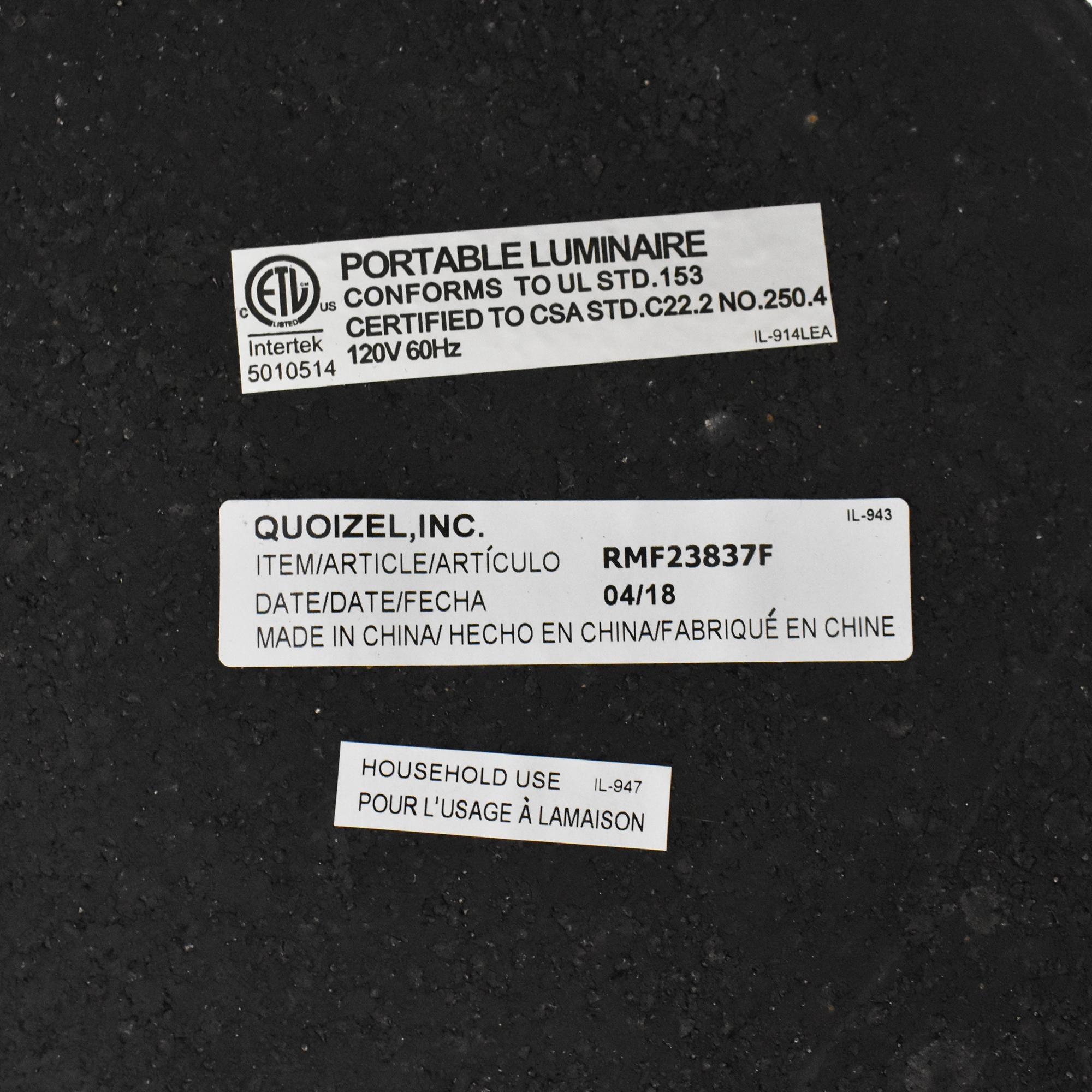 buy Quoizel Quoizel Overarching Floor Lamp online