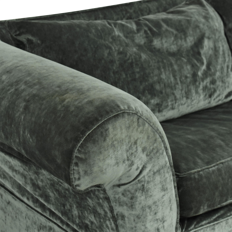 Mitchell Gold + Bob Williams Mitchell Gold Flared Arm Sleeper Sofa on sale