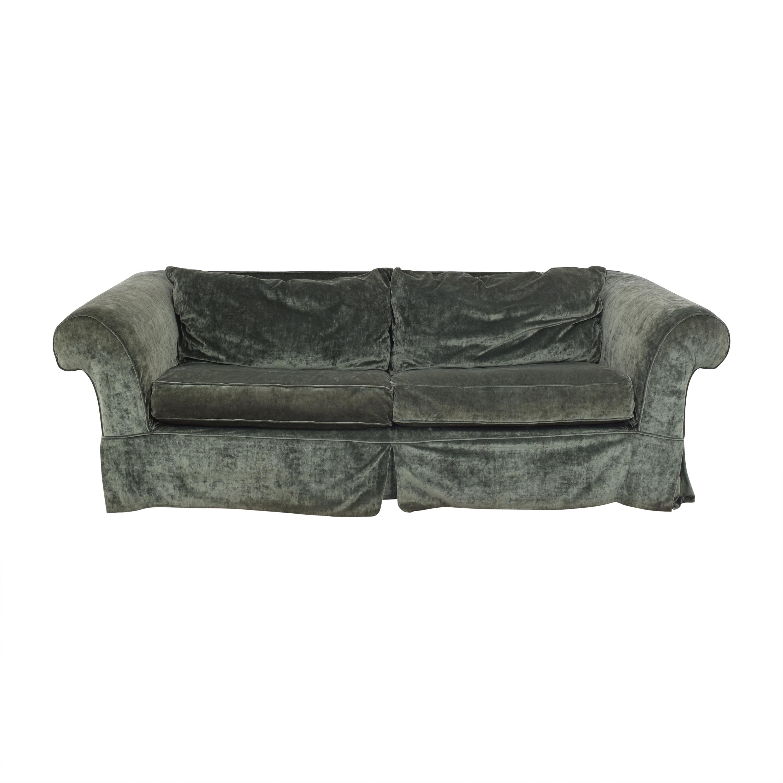 shop Mitchell Gold Flared Arm Sleeper Sofa Mitchell Gold + Bob Williams