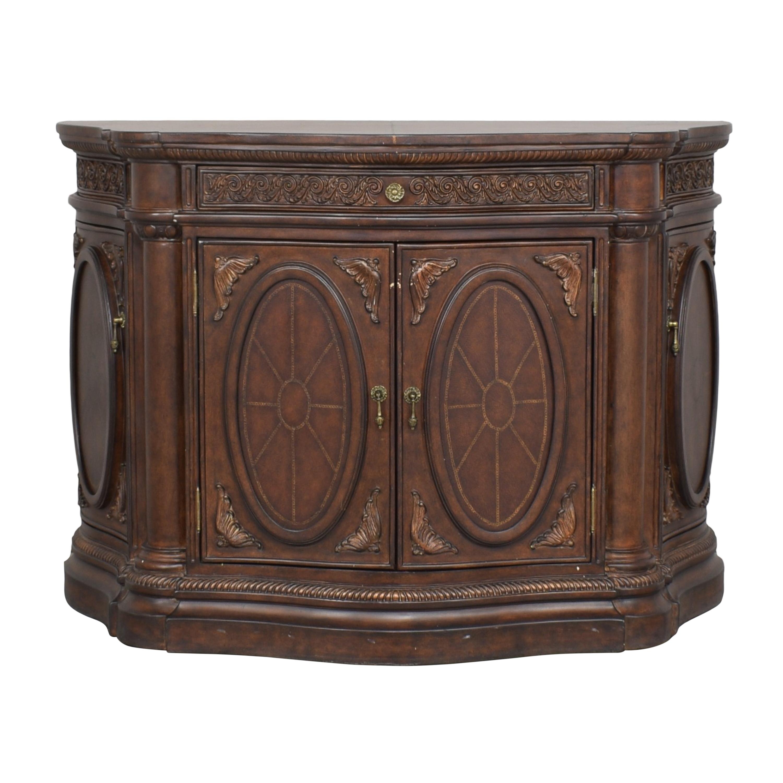buy Bassett Carved Credenza Bassett Furniture Cabinets & Sideboards