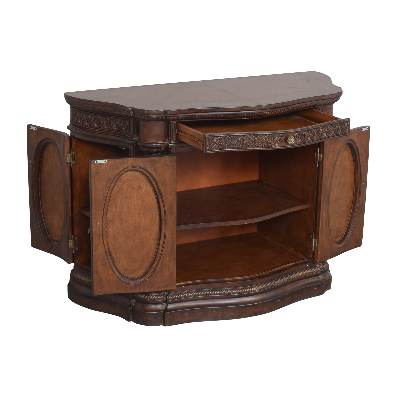 Bassett Furniture Bassett Carved Credenza pa