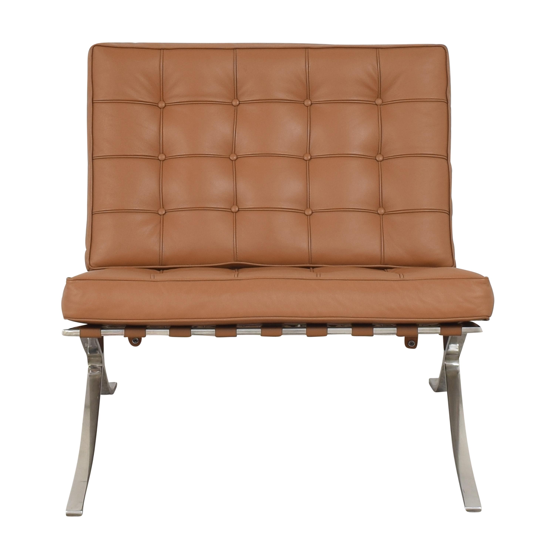 Modern Classics Modern Classics Barcelona Chair Replica brown & silver