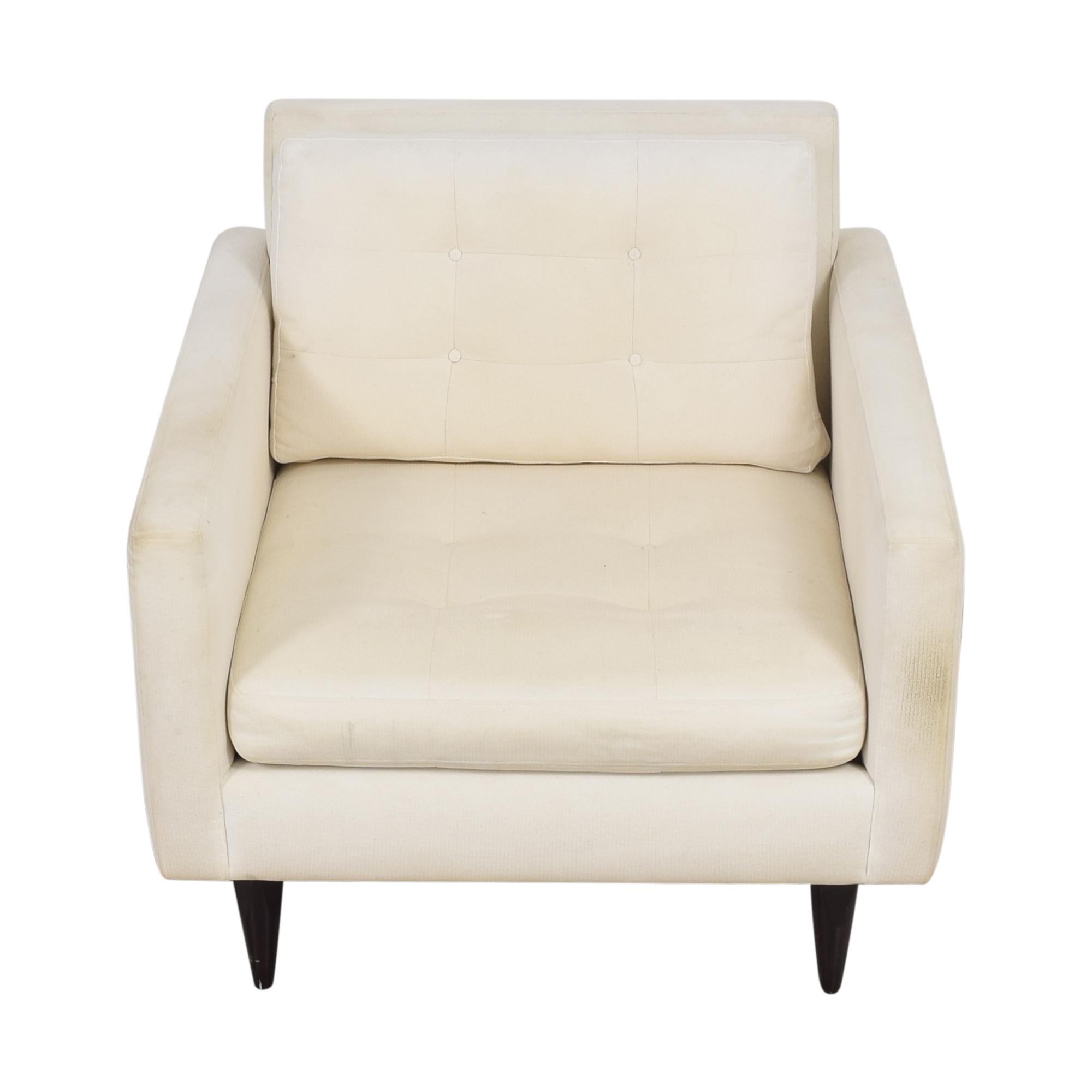 Crate & Barrel Crate & Barrel Petrie Midcentury Chair discount
