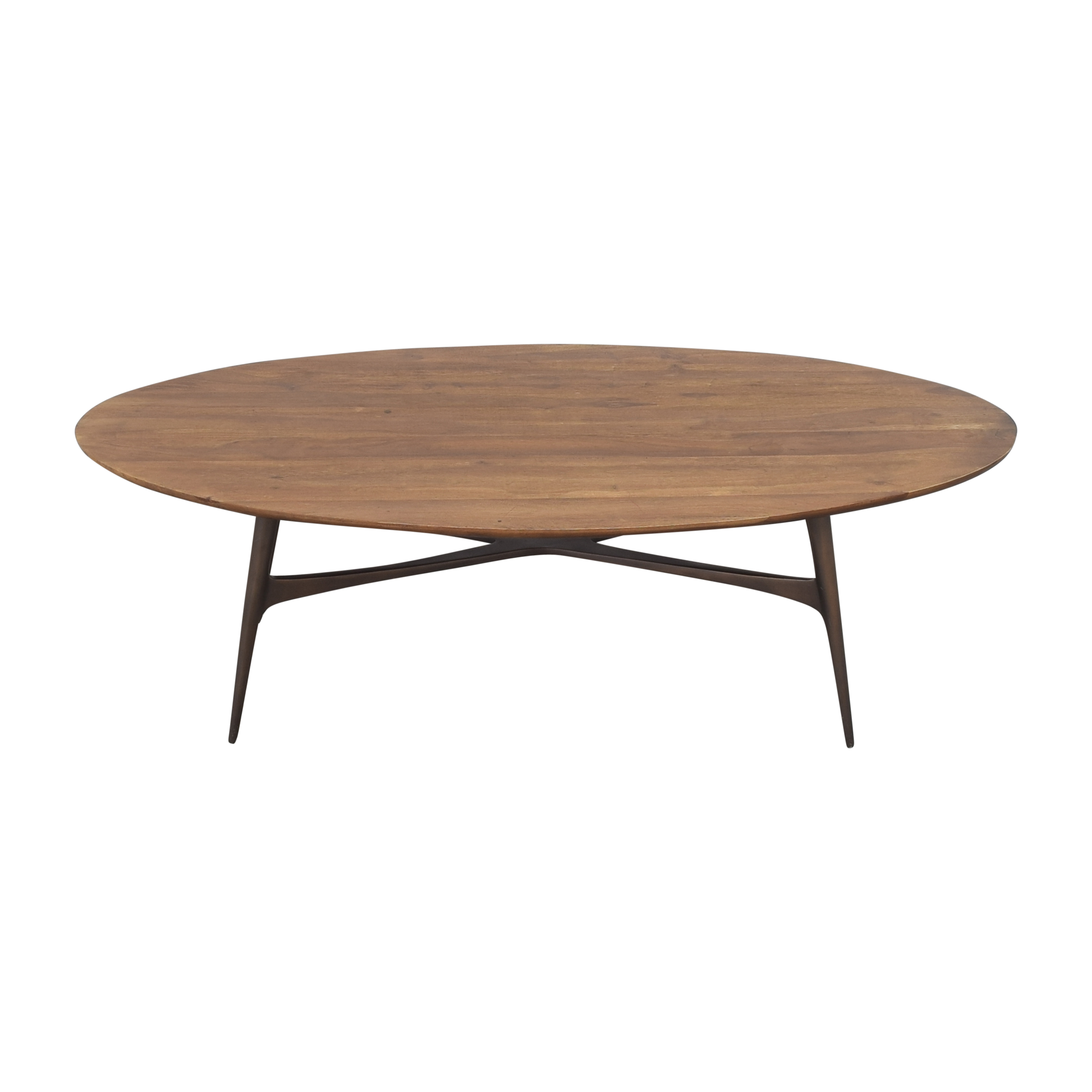 Crate & Barrel Crate & Barrel Bel Air Oval Coffee Table Tables