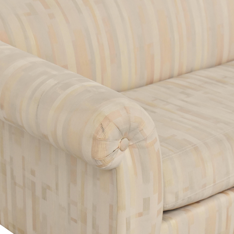 shop Drexel Heritage Bench Cushion Sofa Drexel Heritage