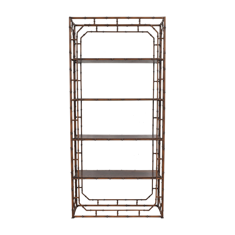 Bamboo-Style Etagere / Bookcases & Shelving