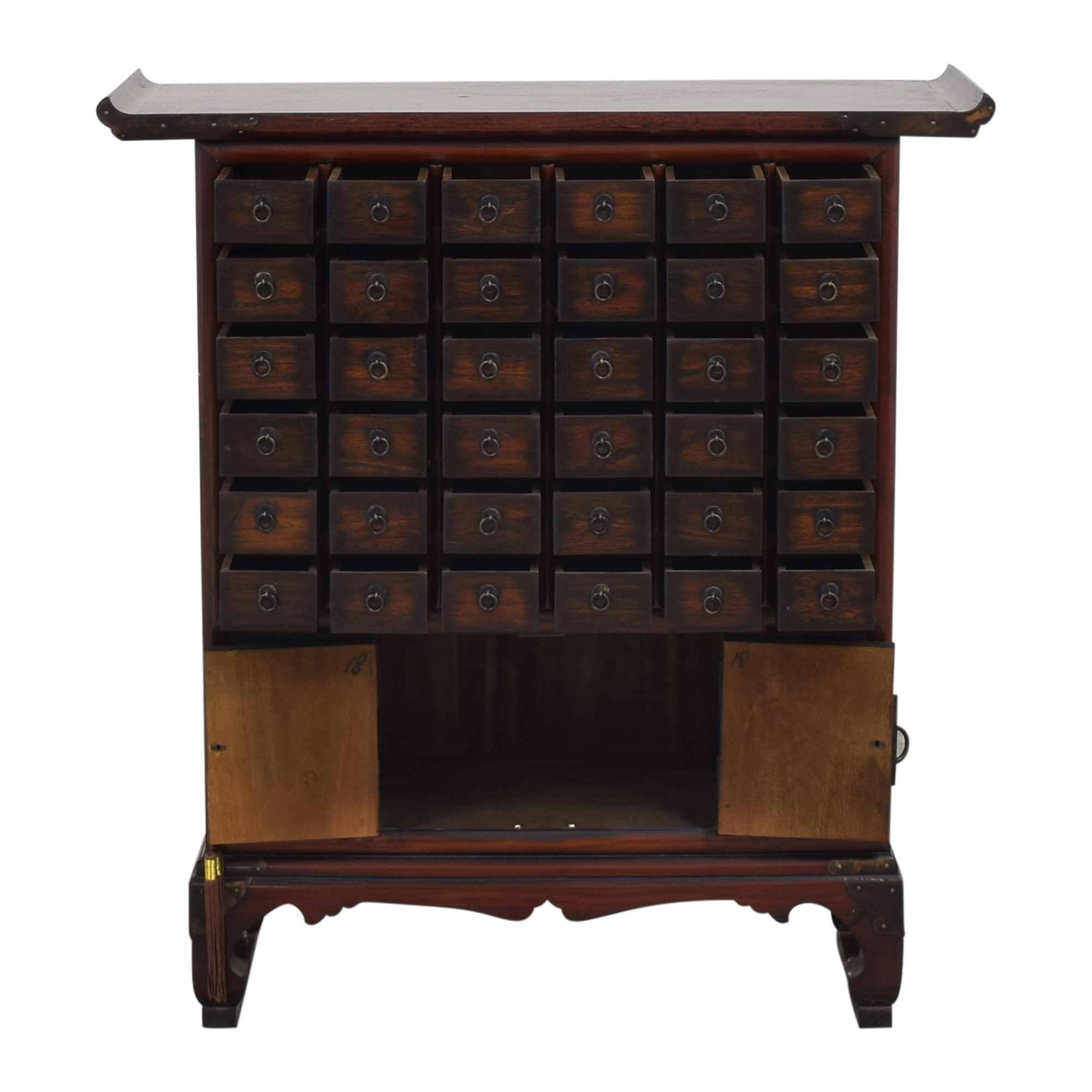 Asian-Style Apothecary Chest / Storage