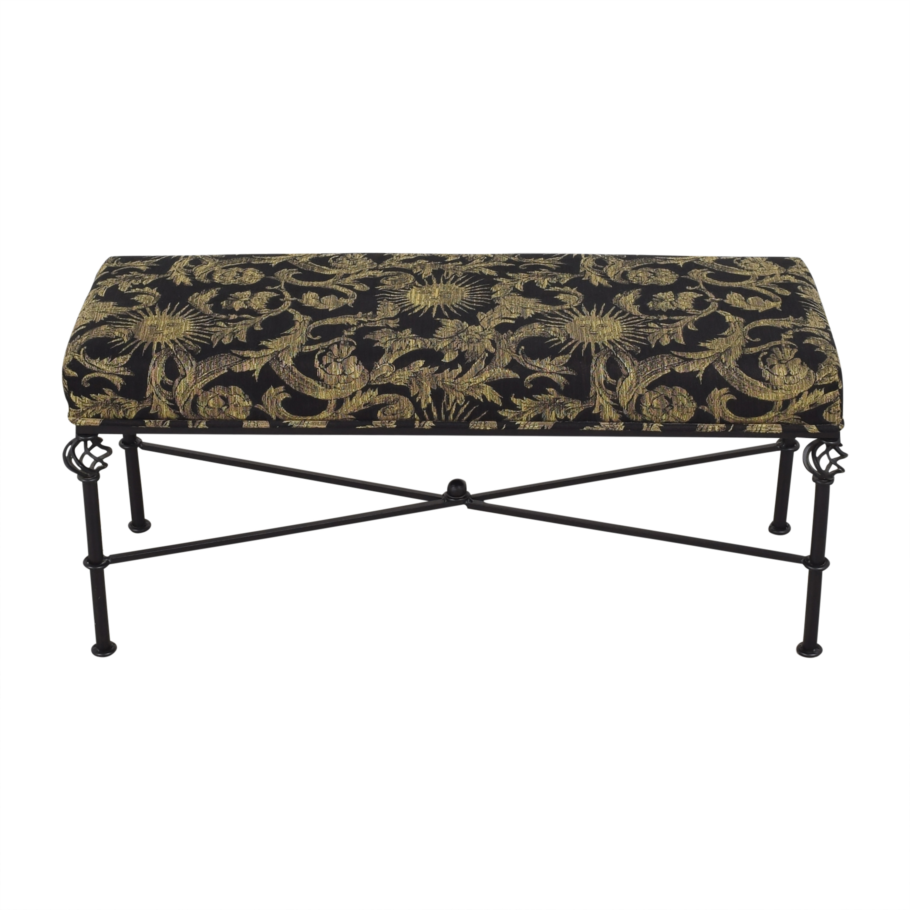 buy Filigree Upholstered Bench  Chairs
