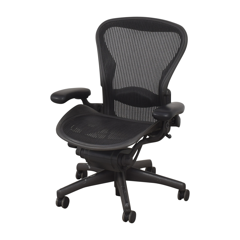 Herman Miller Herman Miller Aeron Size B Swivel Desk Chair for sale