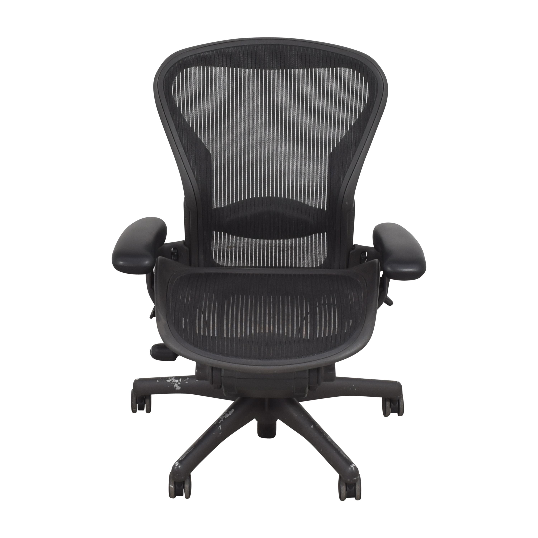 buy Herman Miller Herman Miller Aeron Size B Swivel Desk Chair online