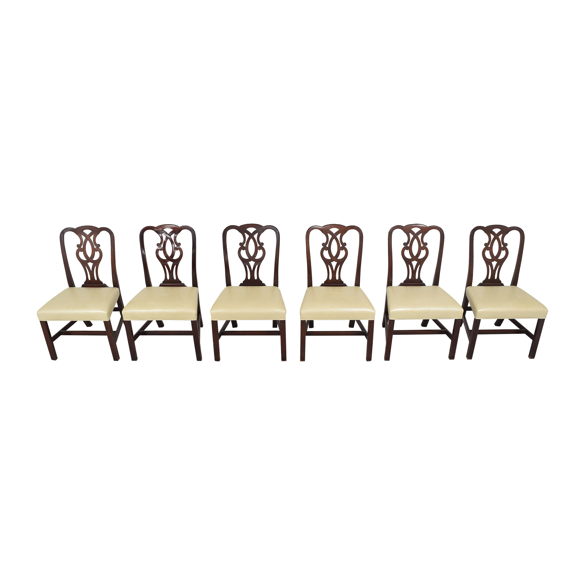 Baker Furniture Chippendale-Style Dining Side Chairs / Dining Chairs