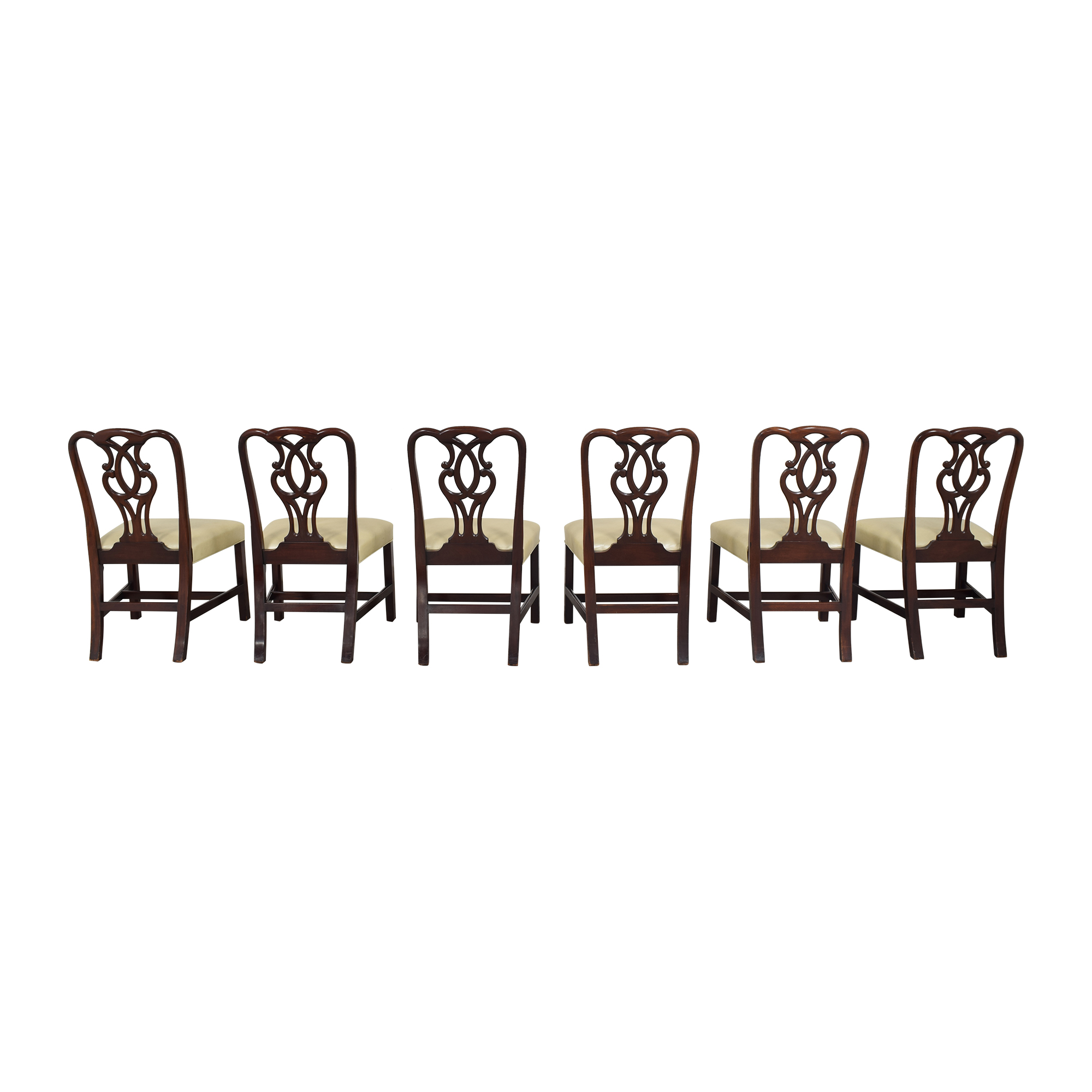shop Baker Furniture Baker Furniture Chippendale-Style Dining Side Chairs online