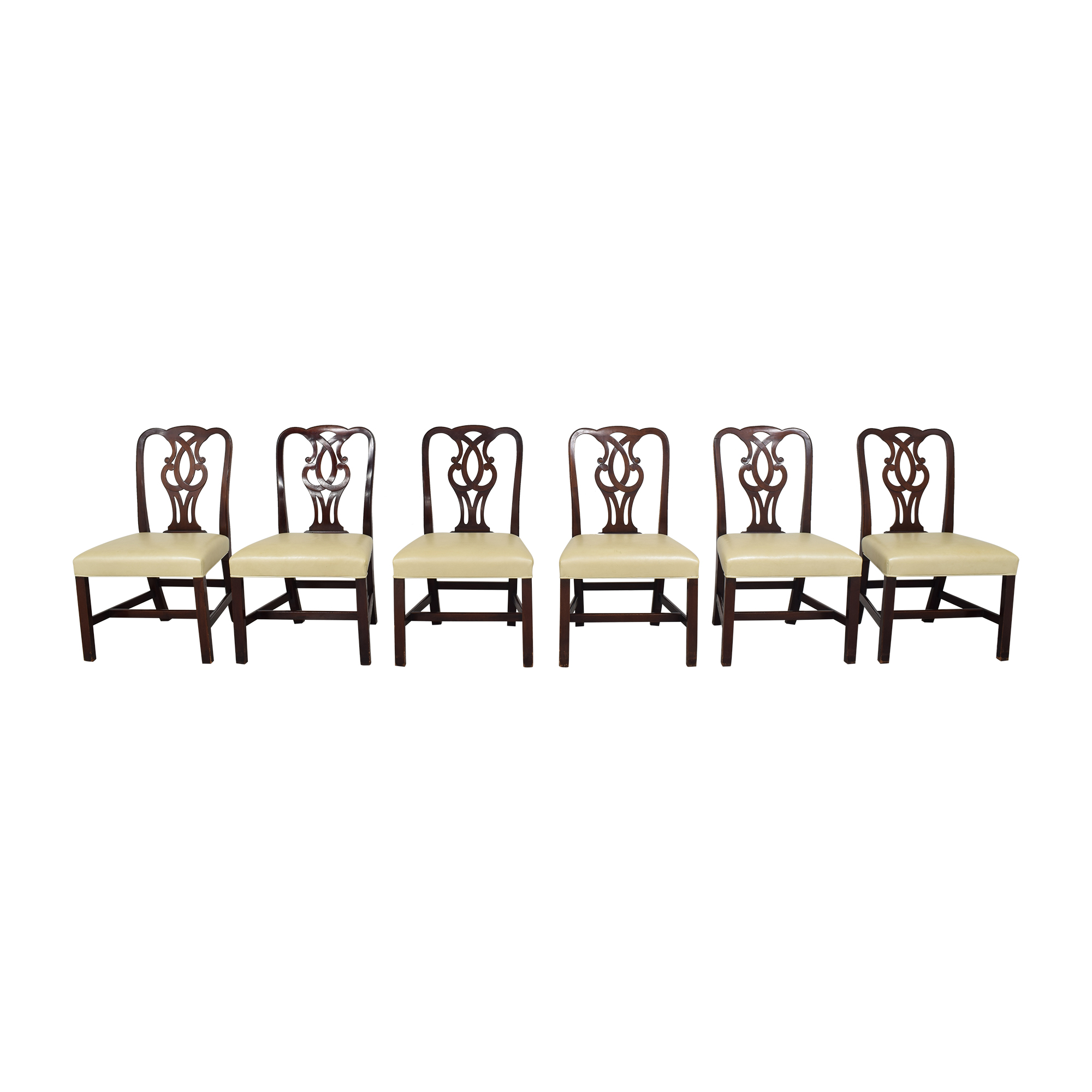 buy Baker Furniture Chippendale-Style Dining Side Chairs Baker Furniture Dining Chairs